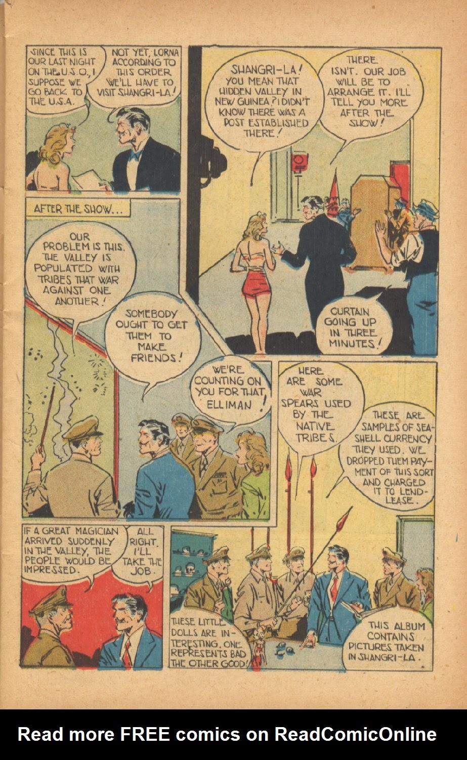 Read online Super-Magician Comics comic -  Issue #47 - 5