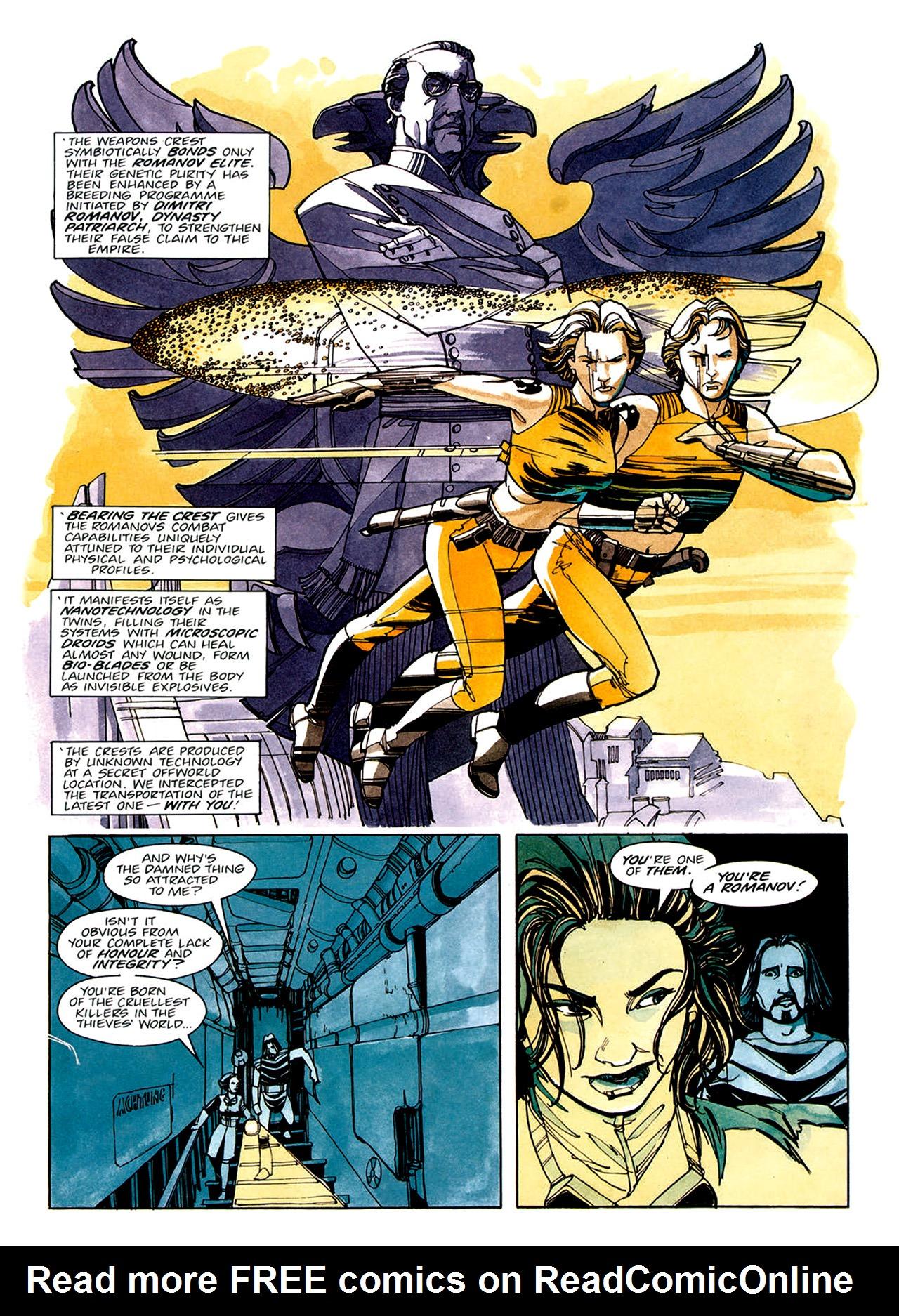 Read online Nikolai Dante comic -  Issue # TPB 1 - 34