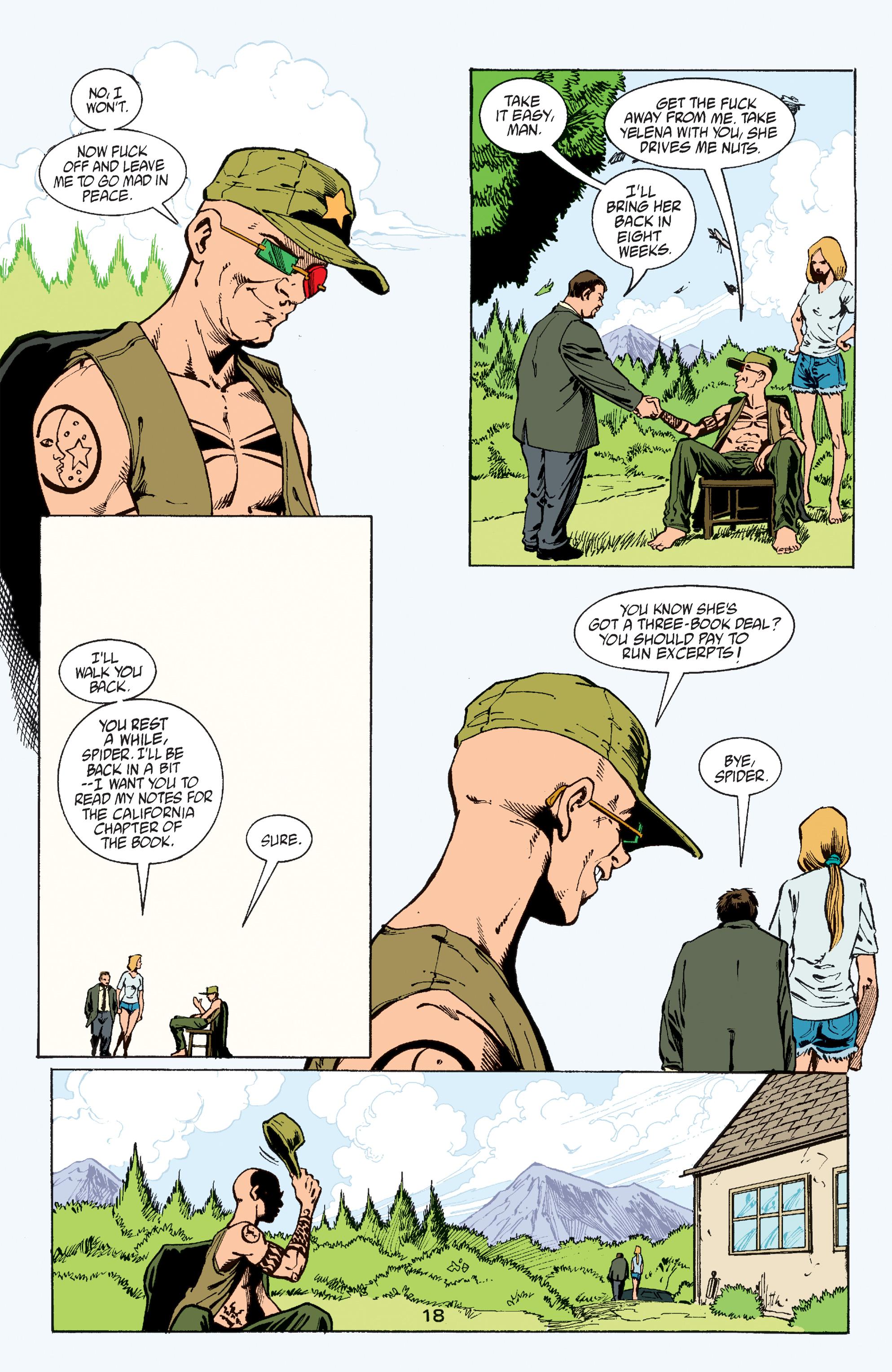 Read online Transmetropolitan comic -  Issue #60 - 18