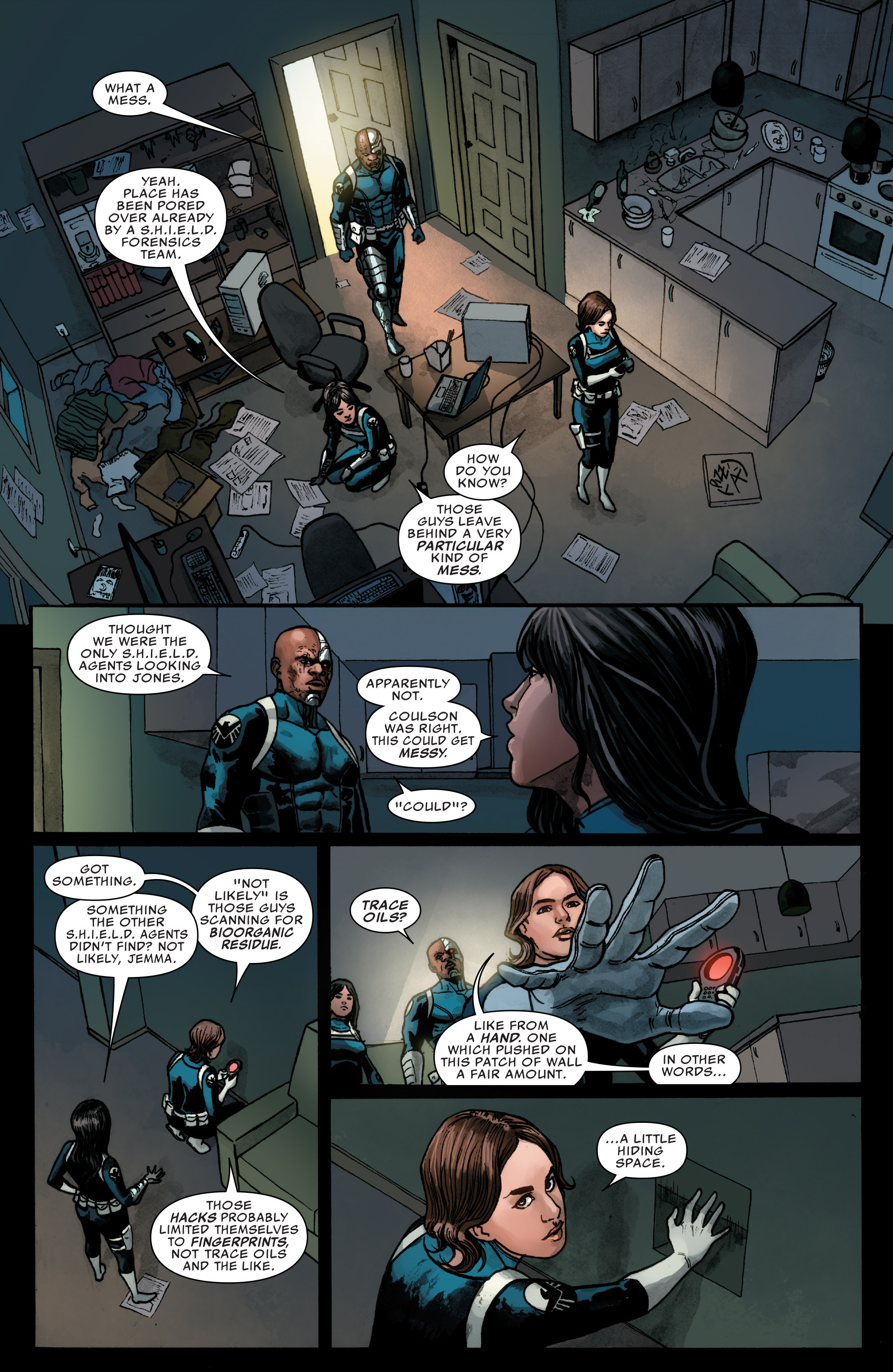 Read online Agents of S.H.I.E.L.D. comic -  Issue #3 - 12
