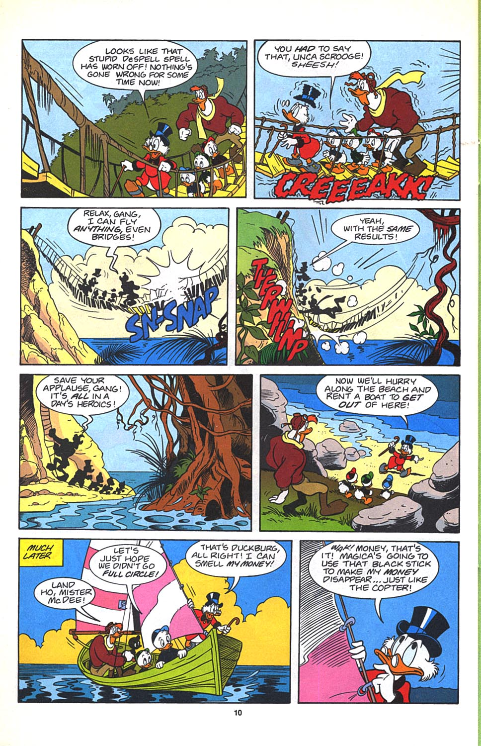 Read online Uncle Scrooge (1953) comic -  Issue #270 - 21
