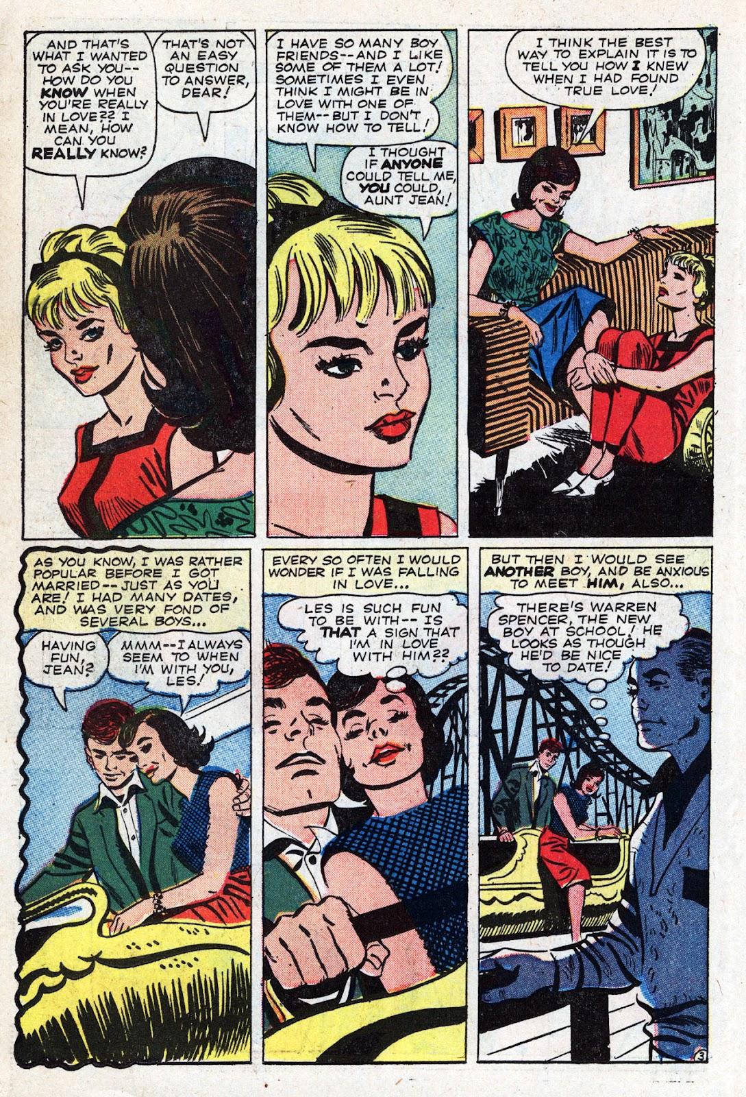 Love Romances (1949) issue 95 - Page 22