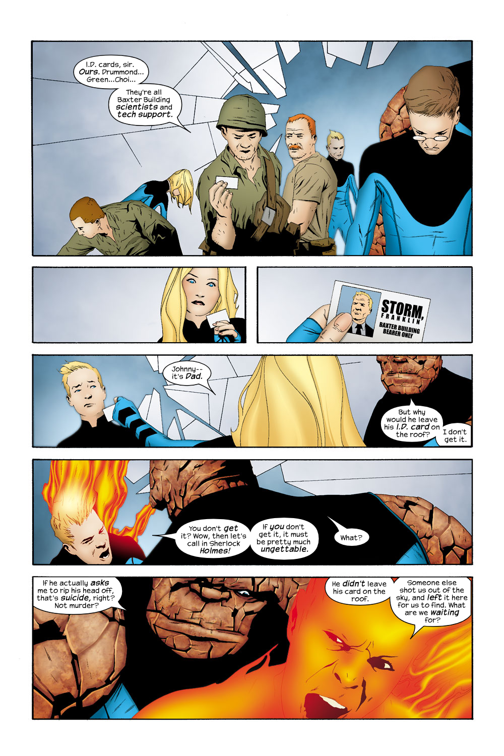 Read online Ultimate Fantastic Four (2004) comic -  Issue #19 - 10