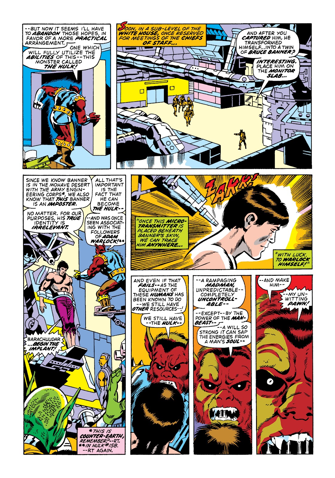 Read online Marvel Masterworks: The Incredible Hulk comic -  Issue # TPB 10 (Part 2) - 31