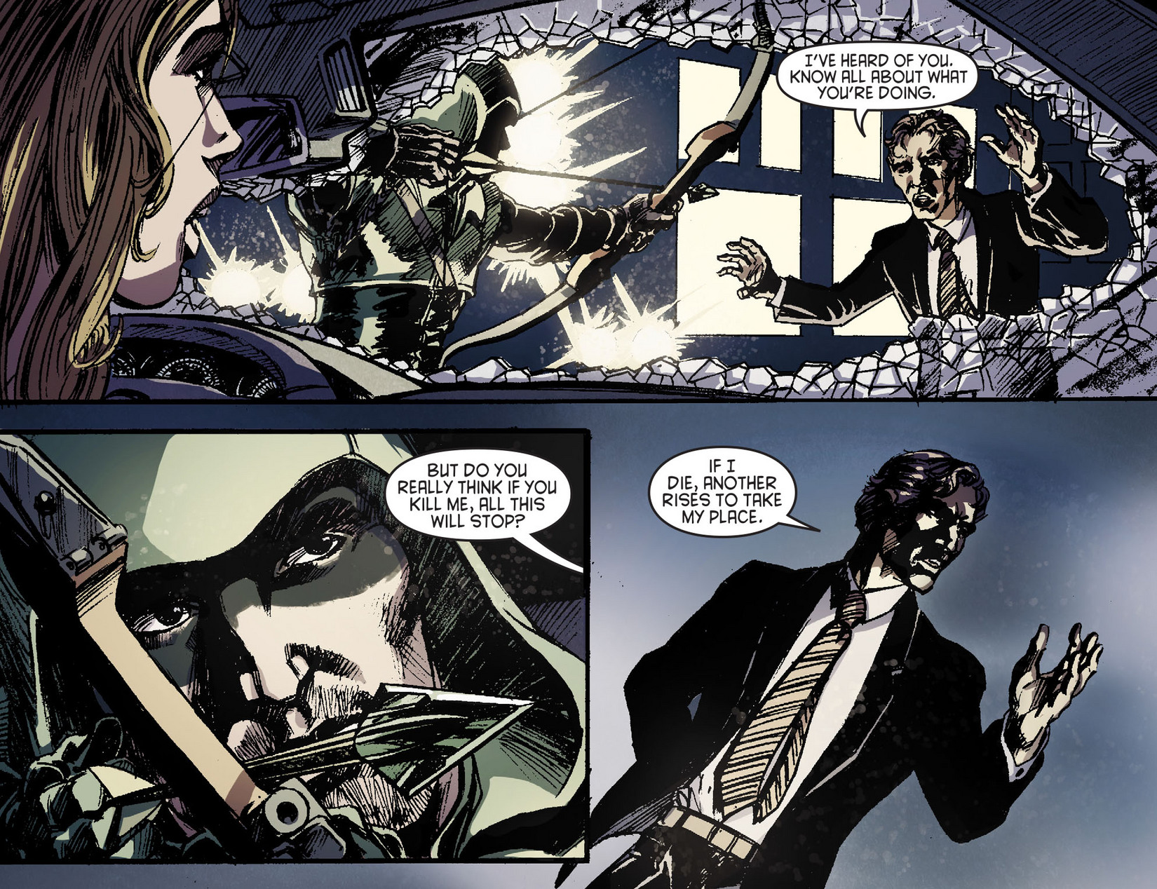 Read online Arrow [II] comic -  Issue #6 - 17