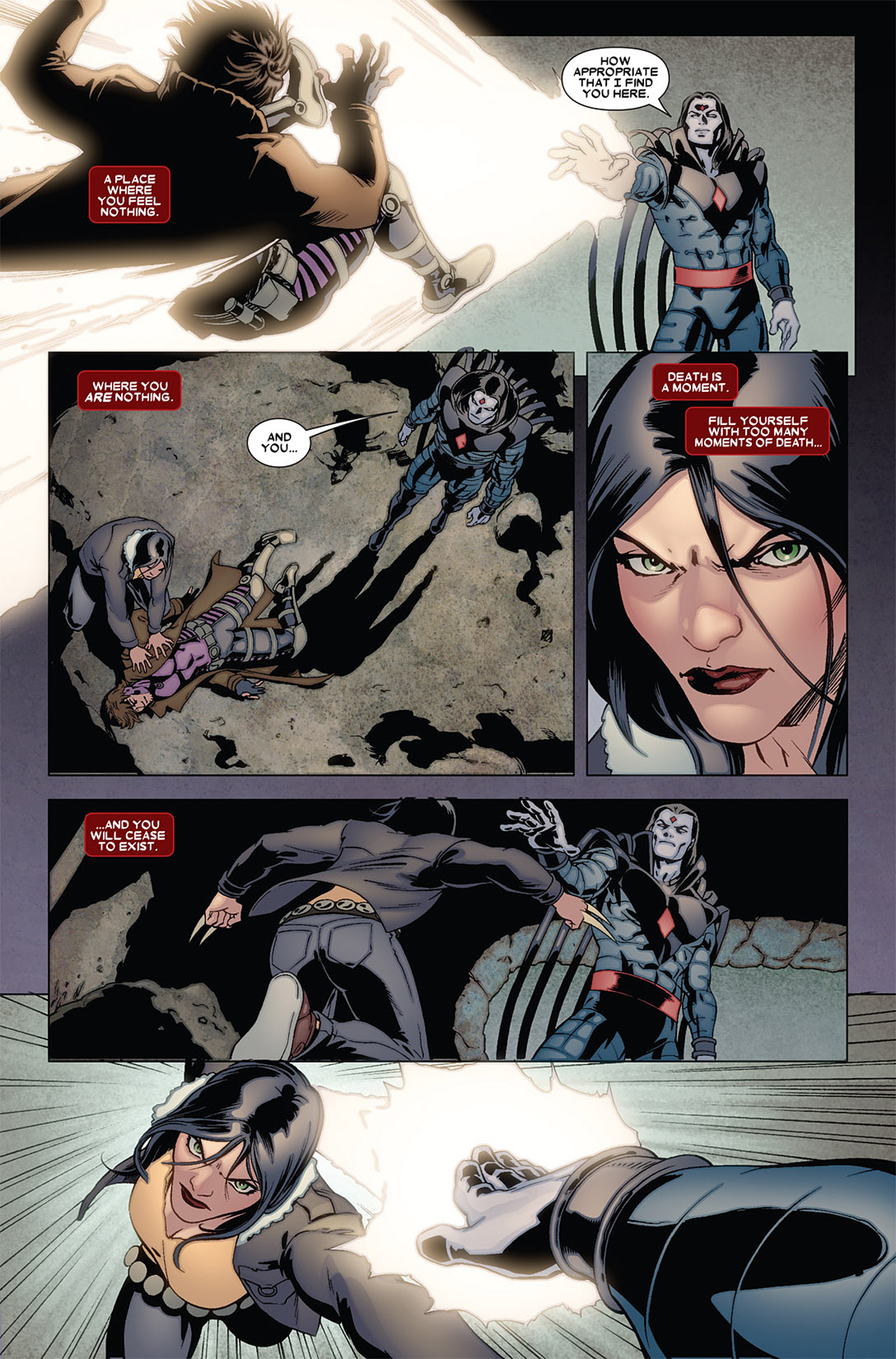 Read online X-23 (2010) comic -  Issue #6 - 4
