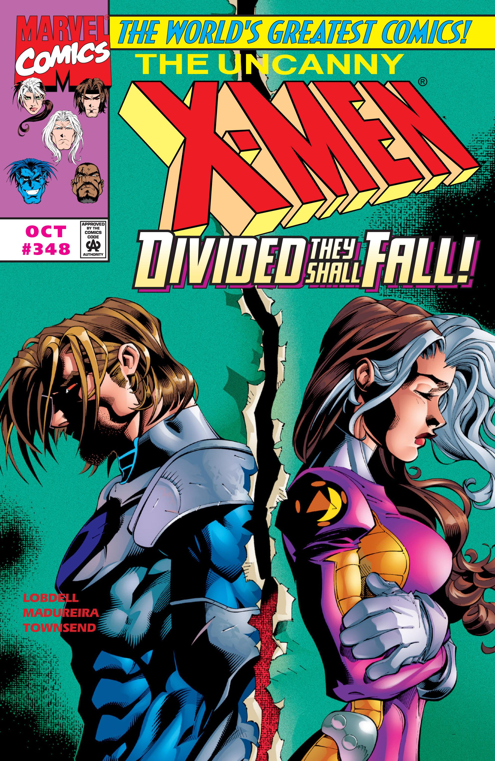Uncanny X-Men (1963) 348 Page 1