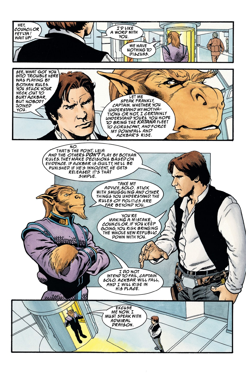 Read online Star Wars Legends: The New Republic - Epic Collection comic -  Issue # TPB 4 (Part 3) - 78