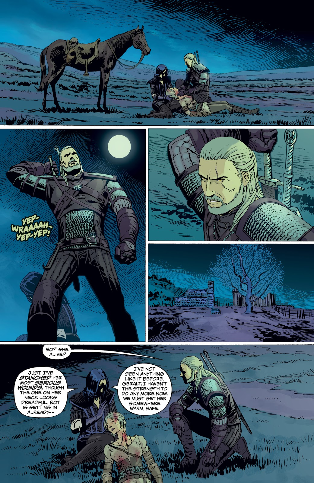 Read online The Witcher Omnibus comic -  Issue # TPB (Part 4) - 93