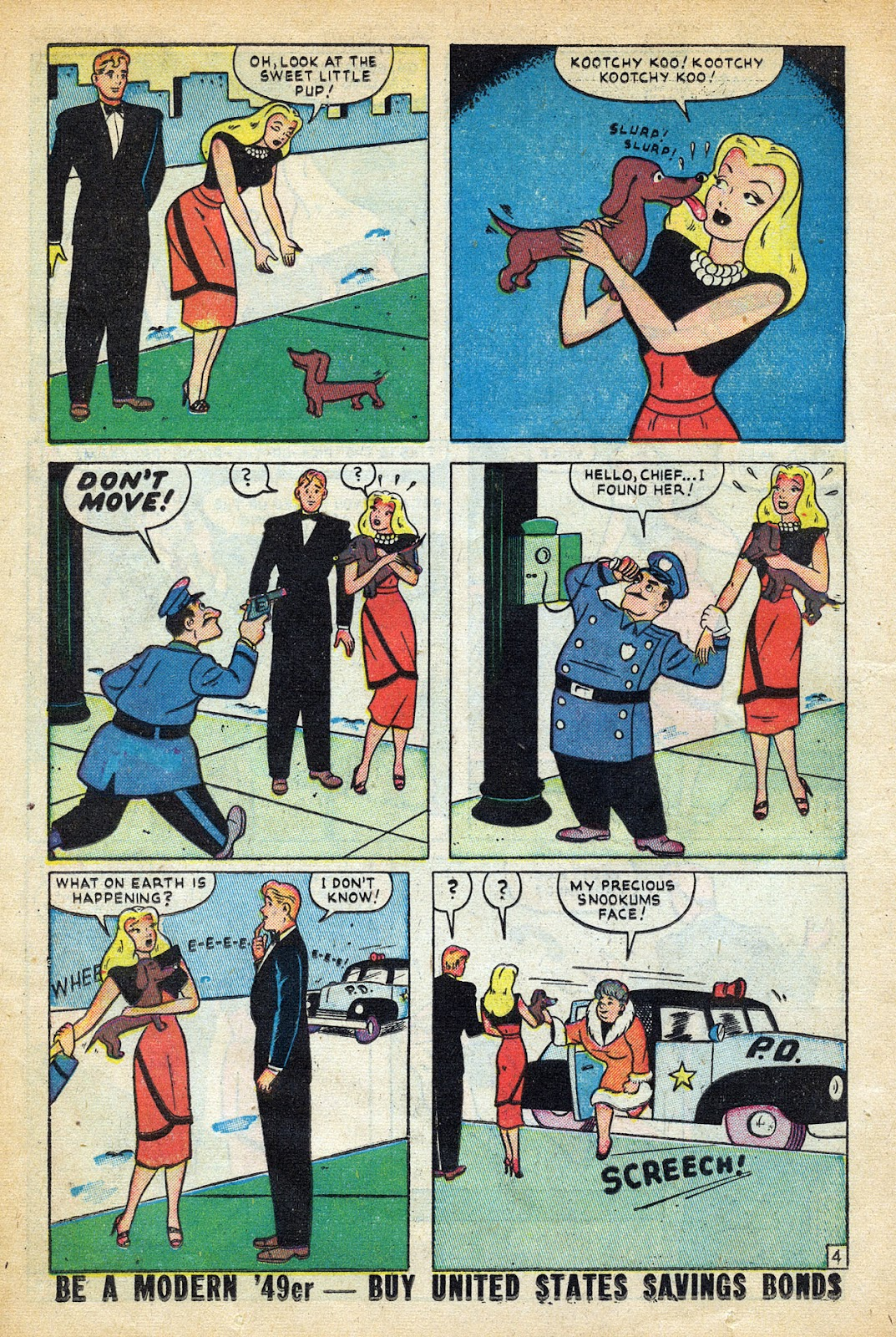 Read online Nellie The Nurse (1945) comic -  Issue #20 - 22