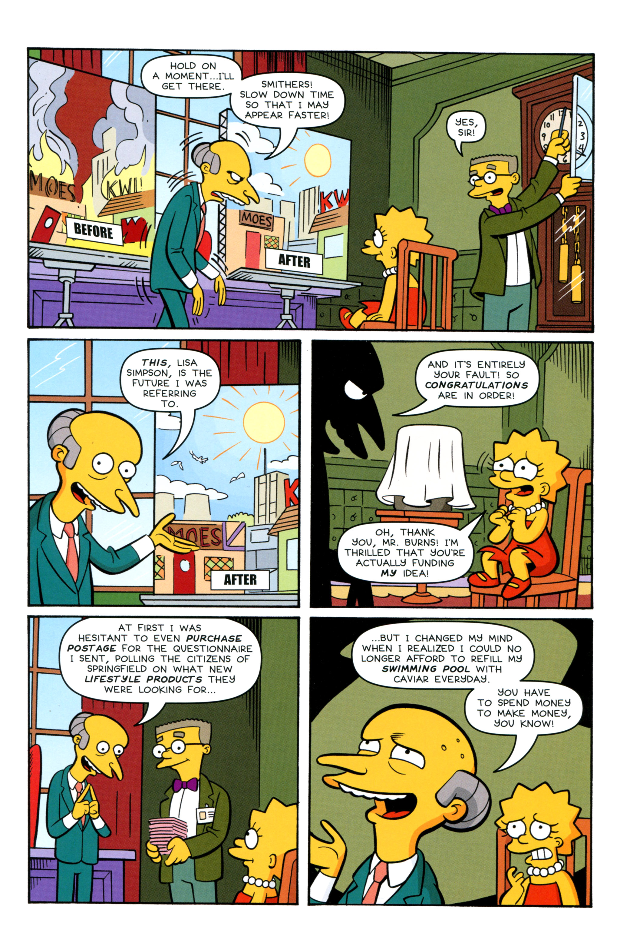 Read online Simpsons Comics comic -  Issue #212 - 4