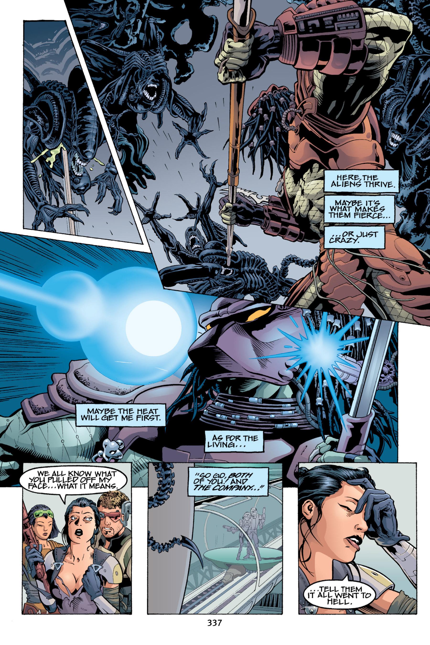 Read online Aliens vs. Predator Omnibus comic -  Issue # _TPB 2 Part 4 - 2