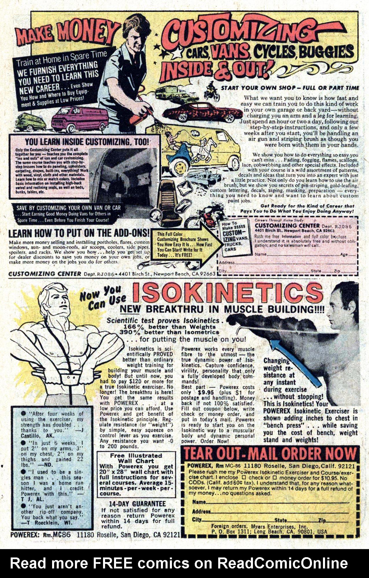 Read online Amazing Adventures (1970) comic -  Issue #39 - 22