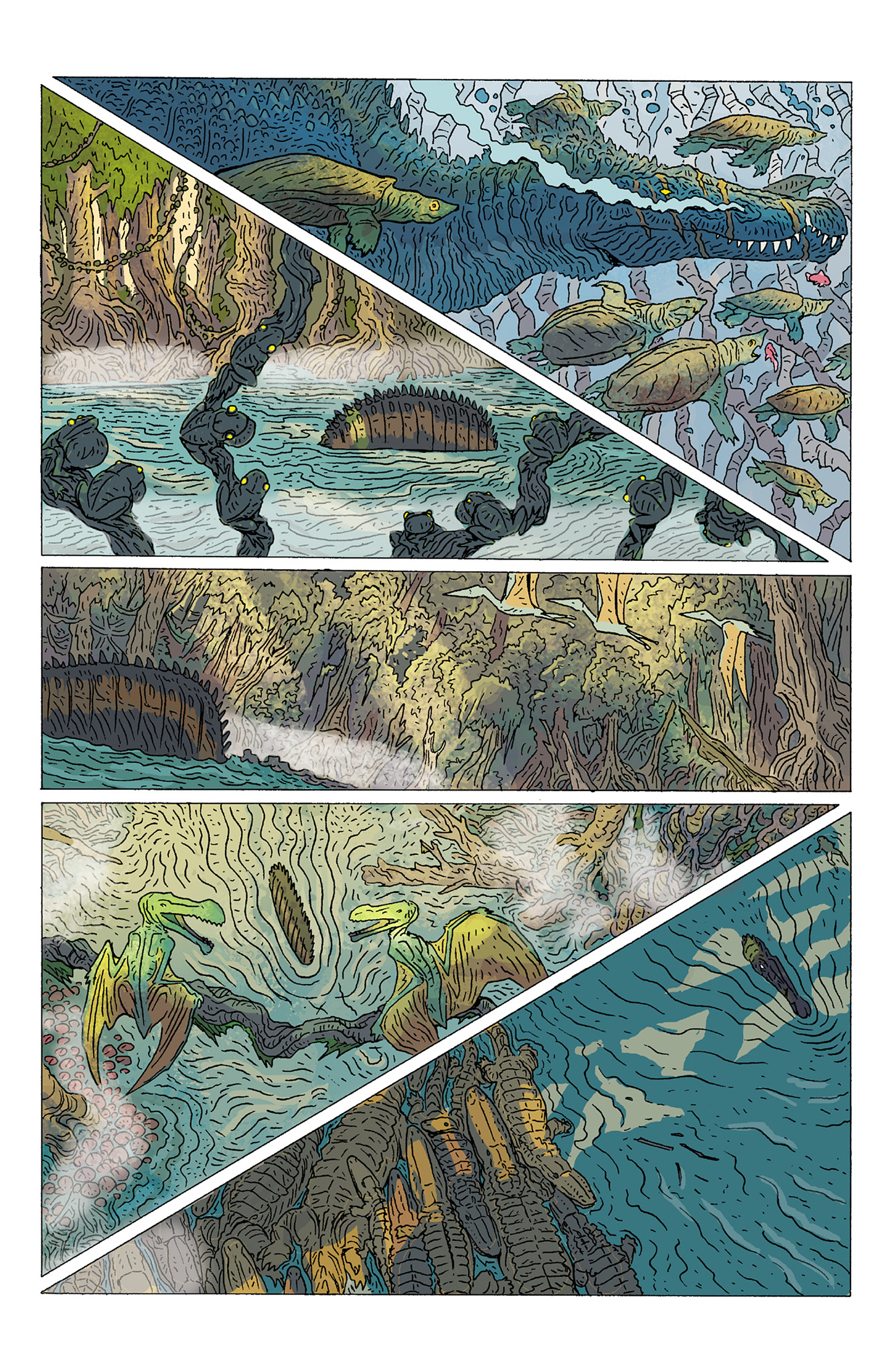 Read online Age of Reptiles: Ancient Egyptians comic -  Issue #1 - 7