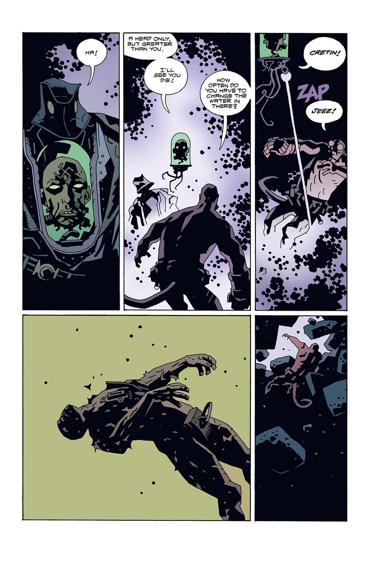 Read online Hellboy: Conqueror Worm comic -  Issue #3 - 14