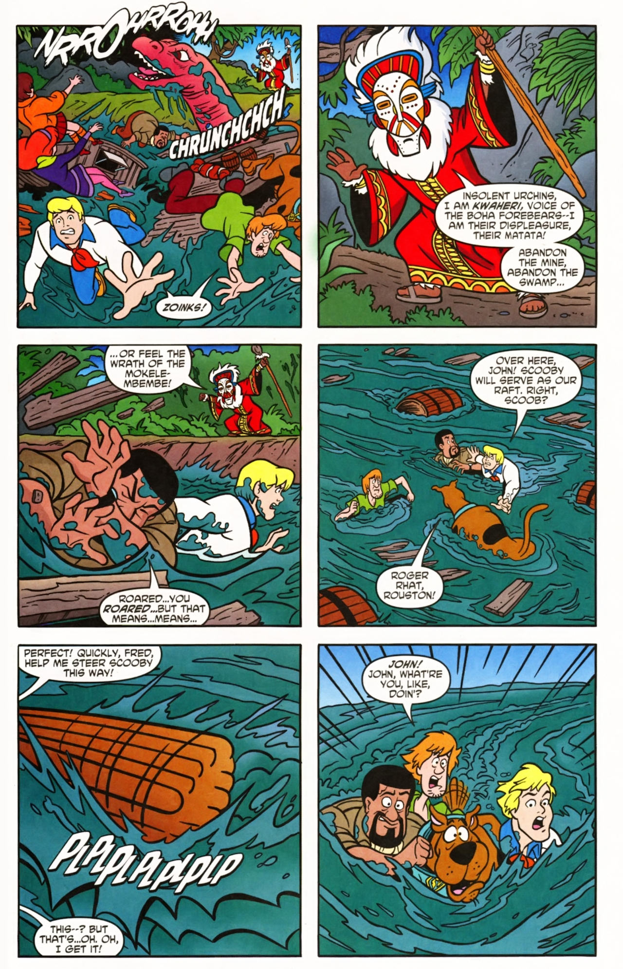 Read online Scooby-Doo (1997) comic -  Issue #145 - 19