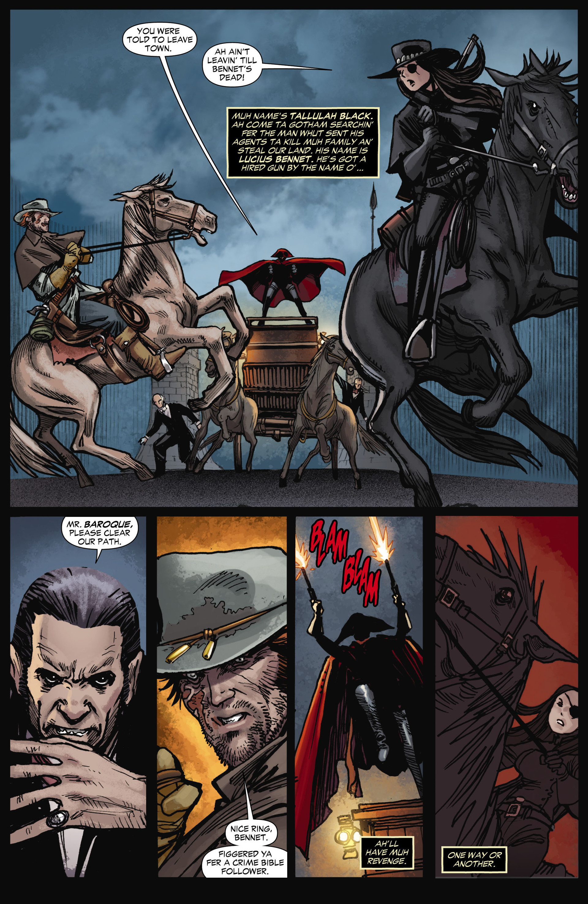 Read online All-Star Western (2011) comic -  Issue #11 - 5