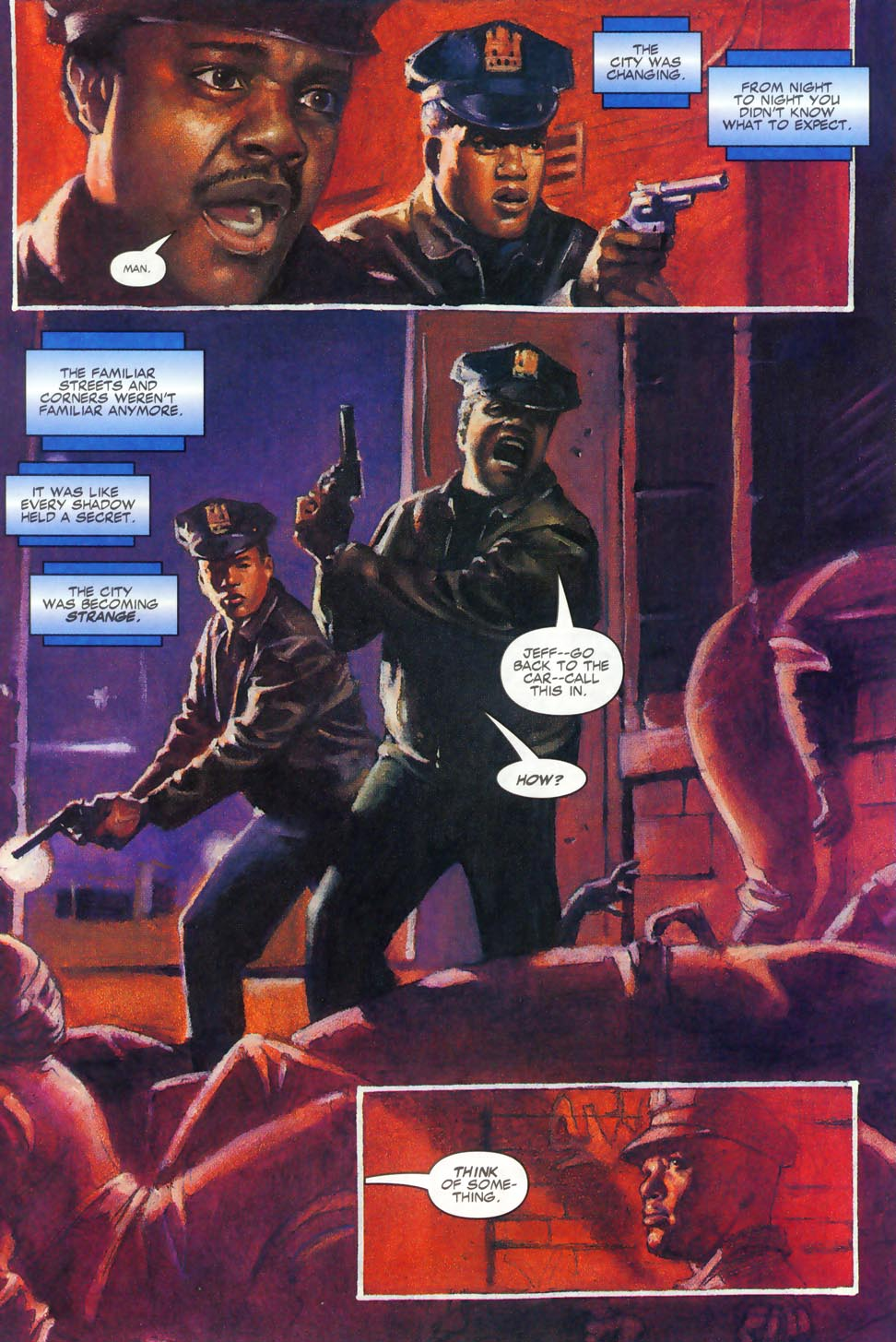Read online Code of Honor comic -  Issue #2 - 38