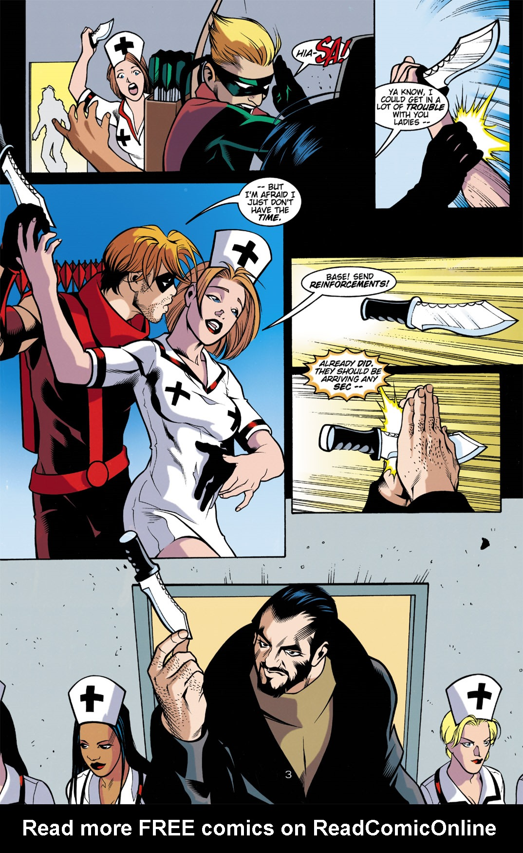 Read online Arsenal comic -  Issue #3 - 4