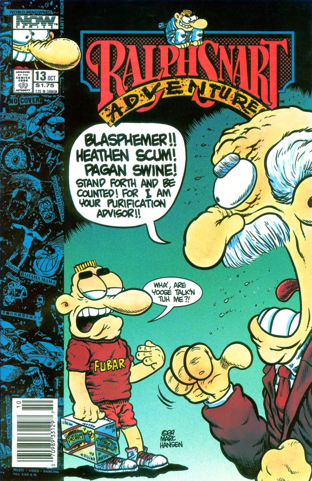 Ralph Snart Adventures (1988) 13 Page 1