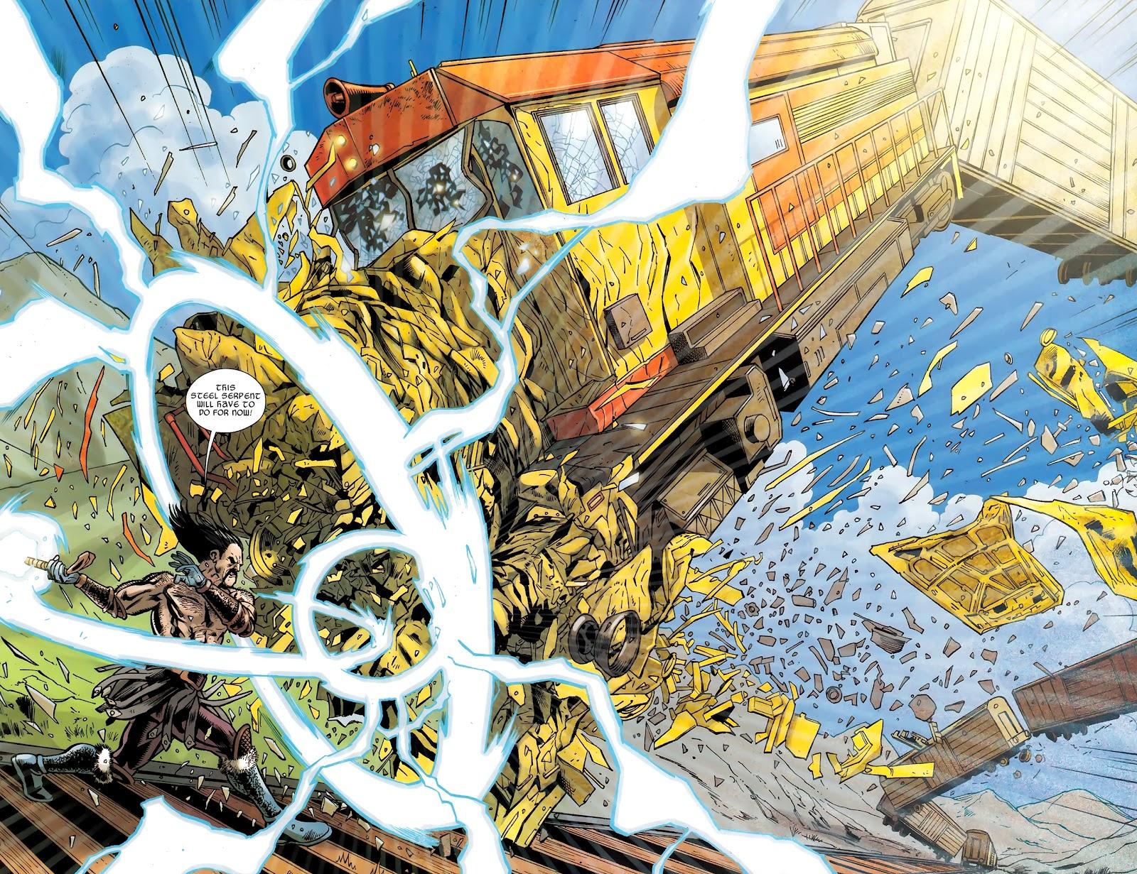 Warriors Three Issue #4 #4 - English 14