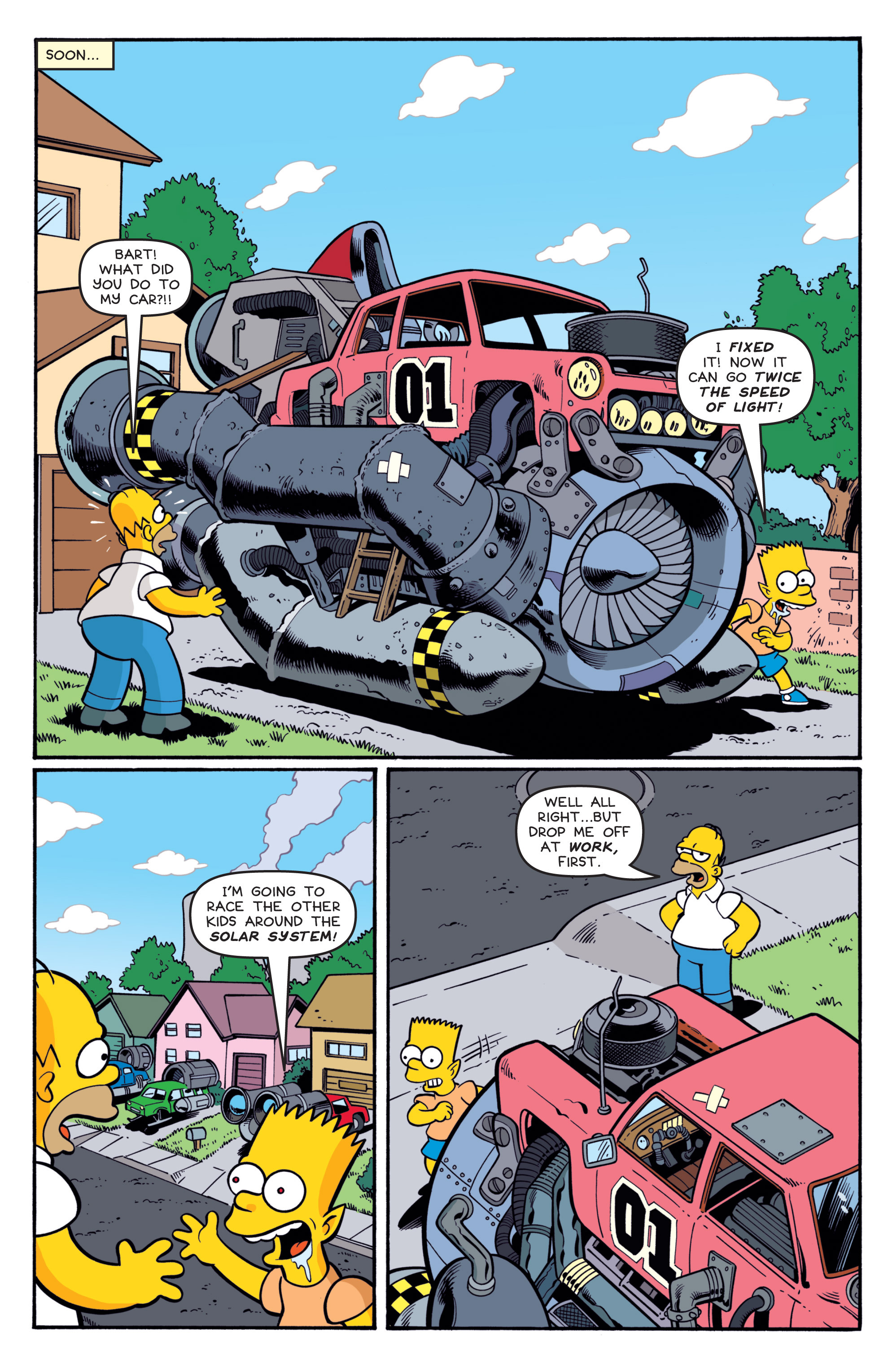 Read online Treehouse of Horror comic -  Issue #19 - 18