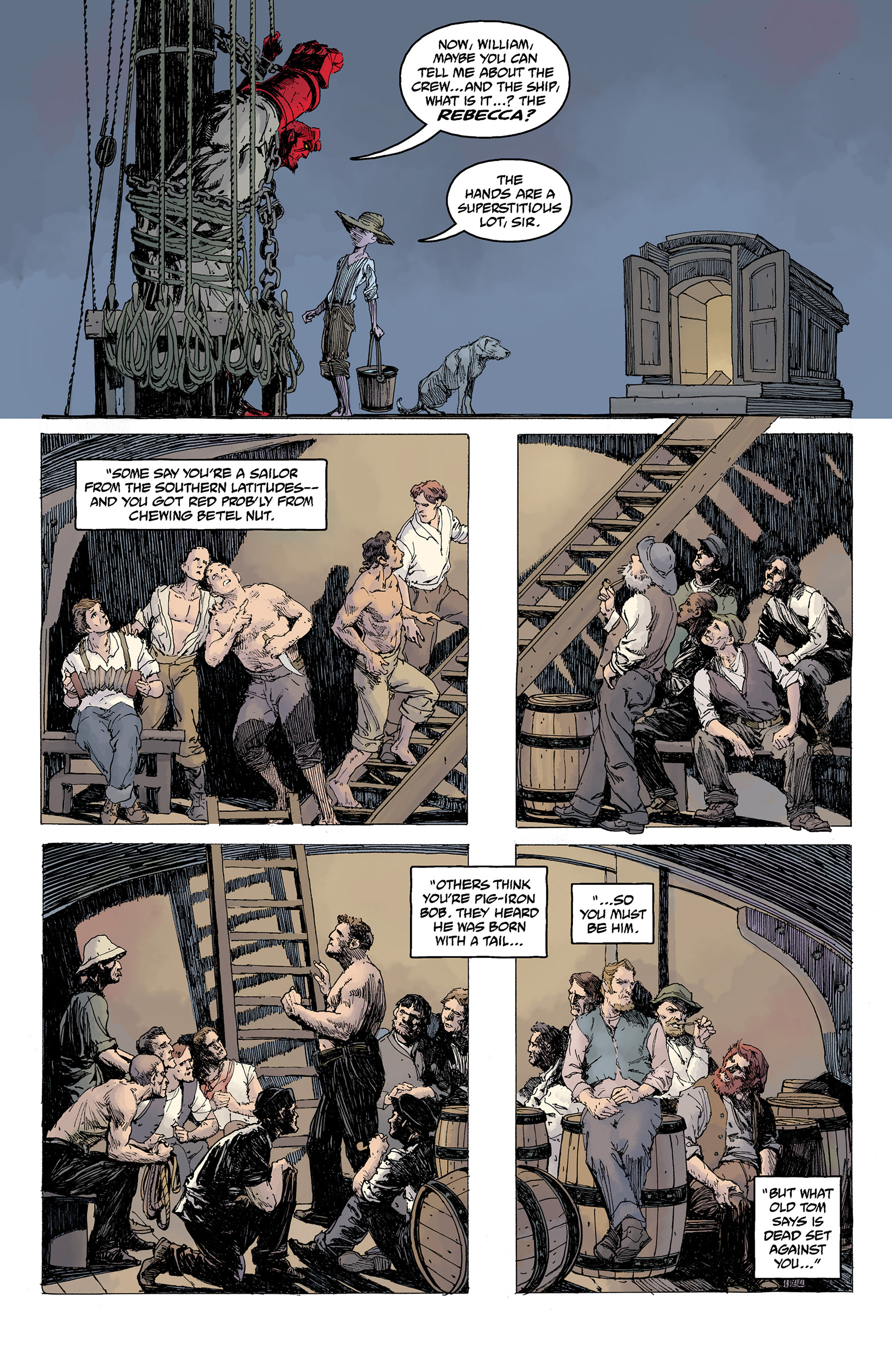 Read online Hellboy: Into the Silent Sea comic -  Issue # Full - 23