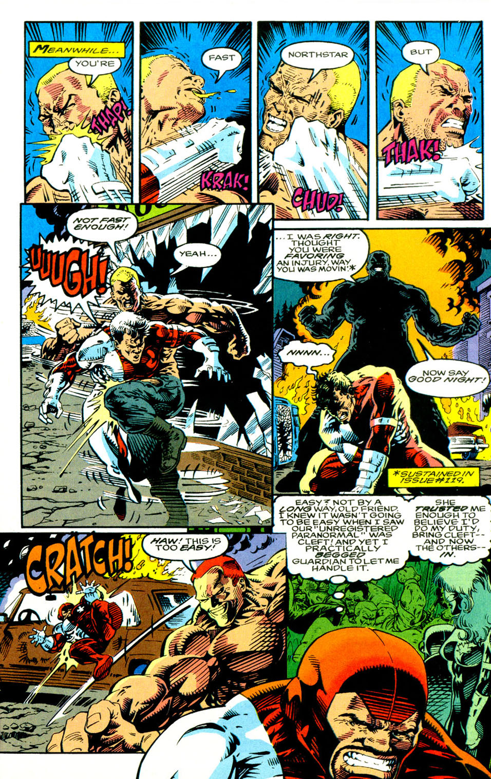 Read online Alpha Flight (1983) comic -  Issue #123 - 20