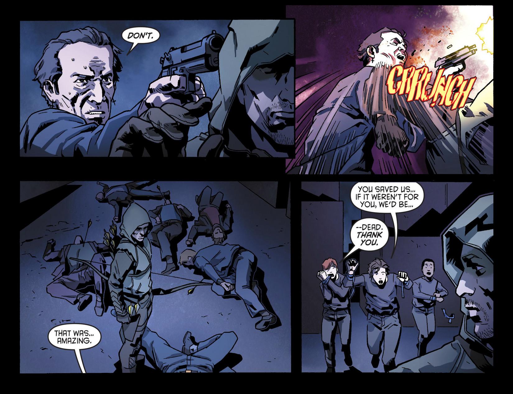 Read online Arrow [II] comic -  Issue #8 - 19