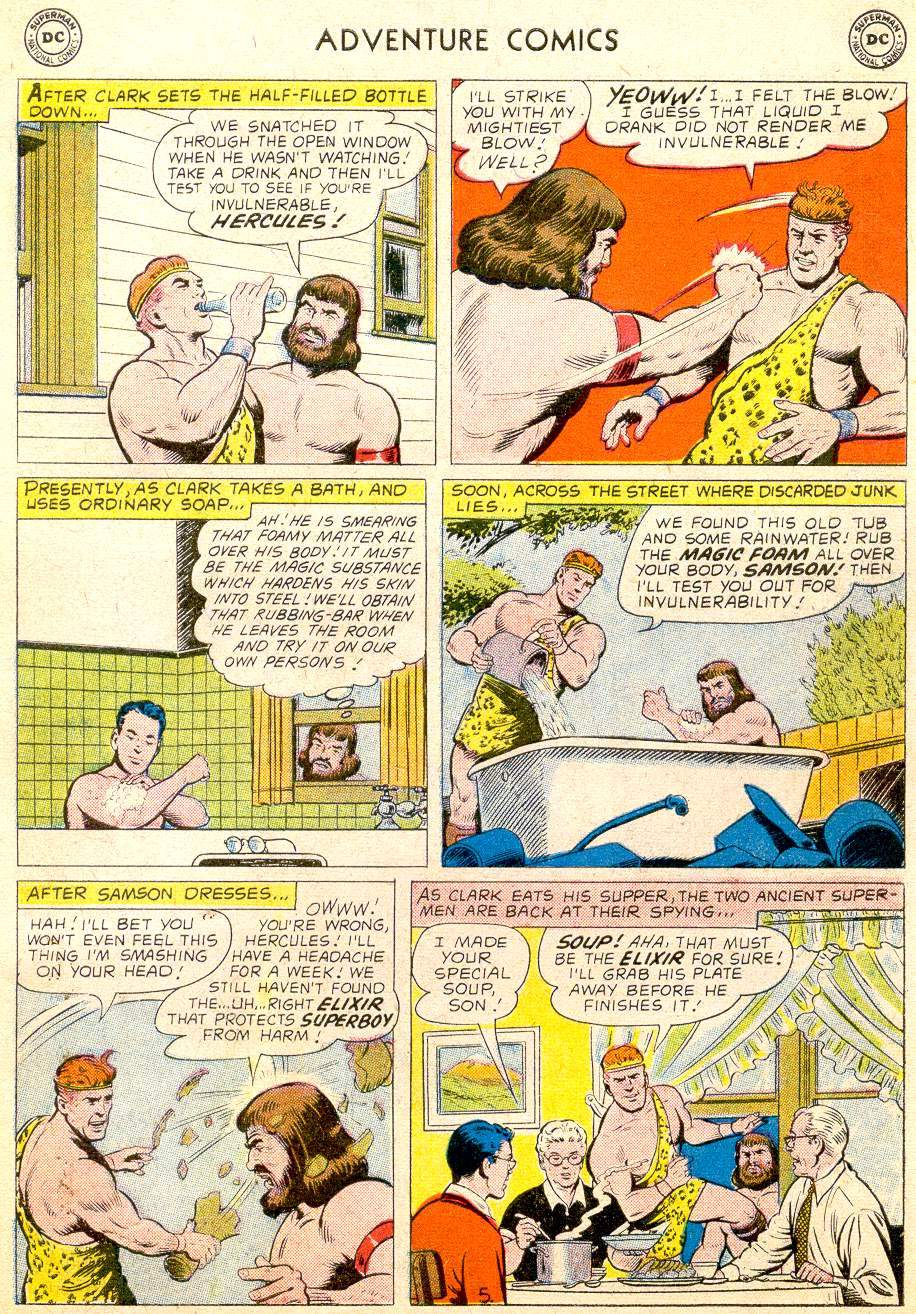 Read online Adventure Comics (1938) comic -  Issue #257 - 7