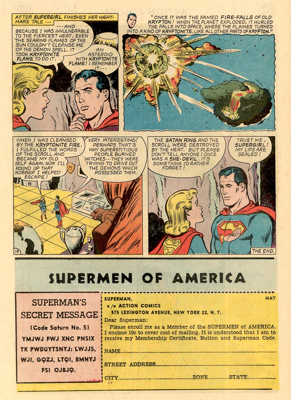 Read online Action Comics (1938) comic -  Issue #324 - 34