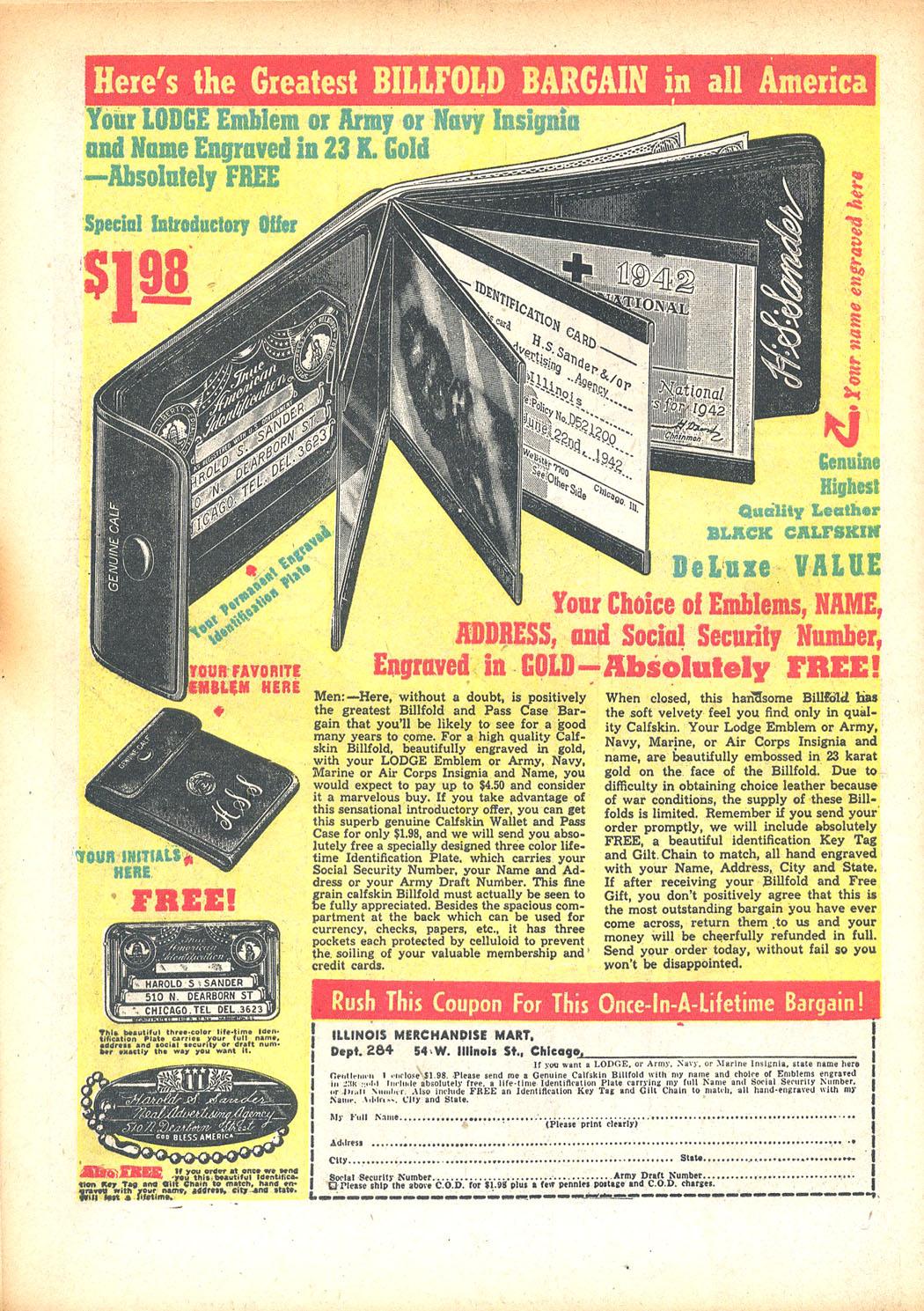 Read online Sensation (Mystery) Comics comic -  Issue #13 - 66