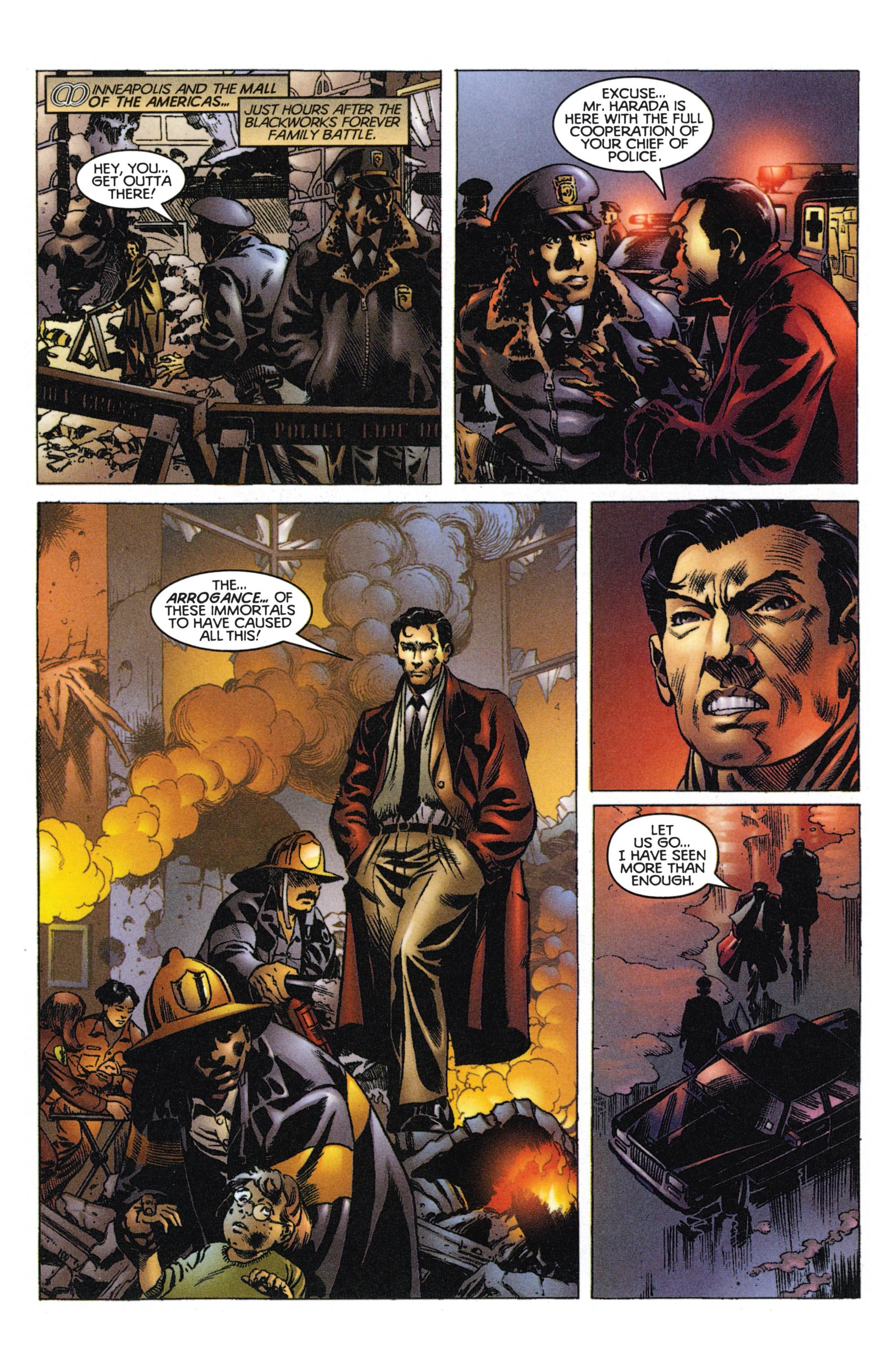 Read online Eternal Warriors comic -  Issue # Issue Mog - 2