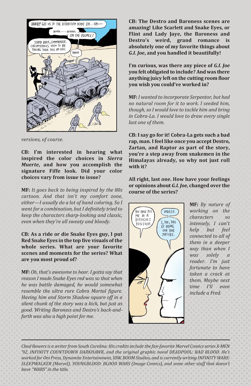 Read online G.I. Joe: Sierra Muerte comic -  Issue #3 - 31