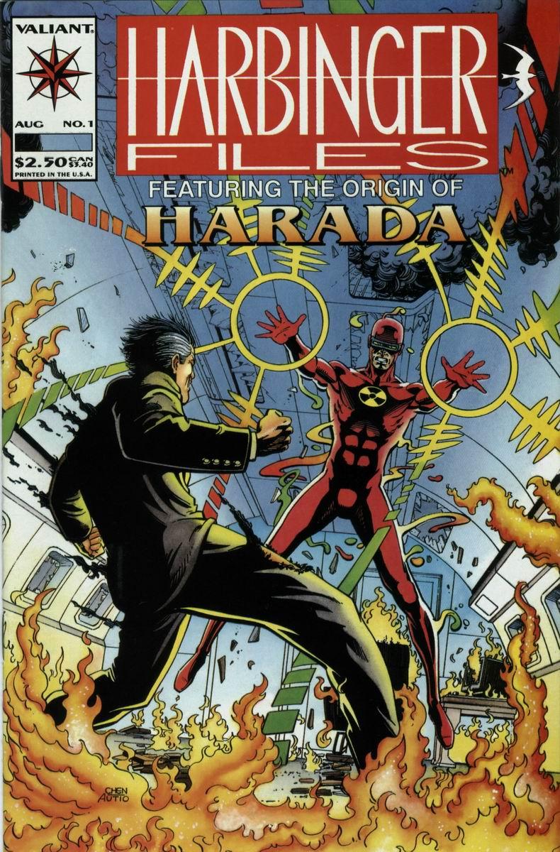 Read online Harbinger Files comic -  Issue #1 - 1
