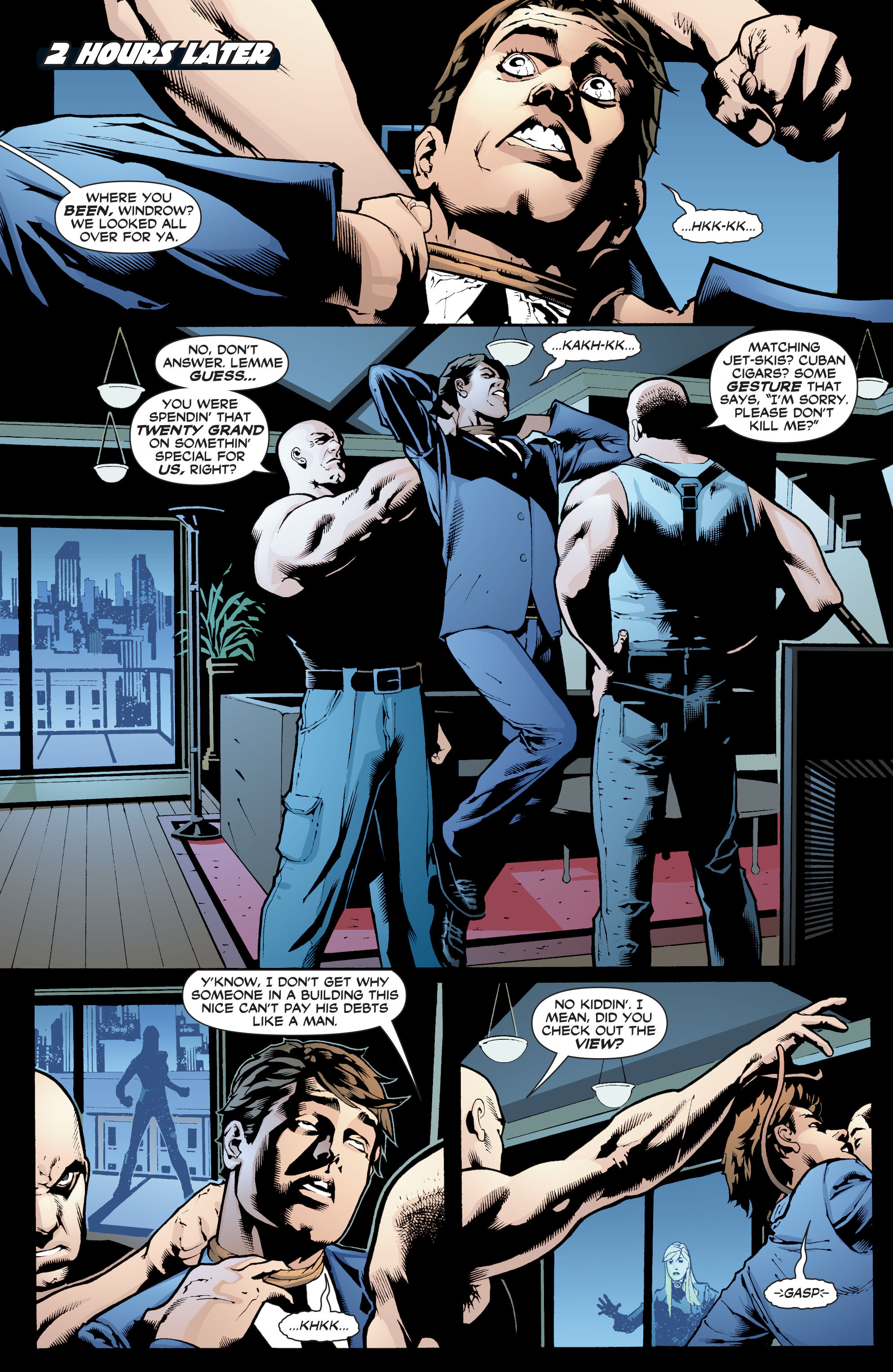 Read online Black Canary (2007) comic -  Issue #1 - 19