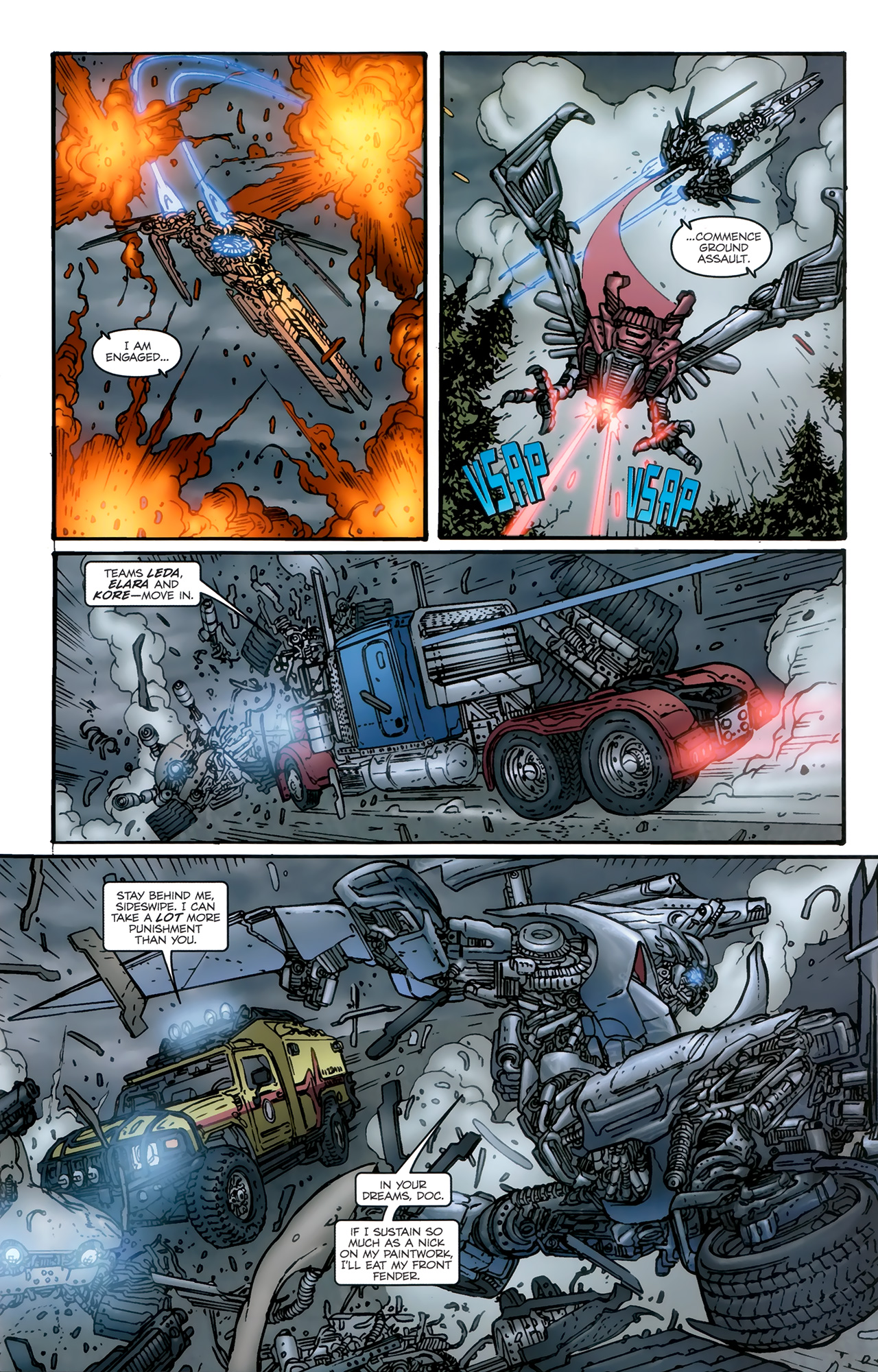 Read online Transformers: Nefarious comic -  Issue #5 - 20