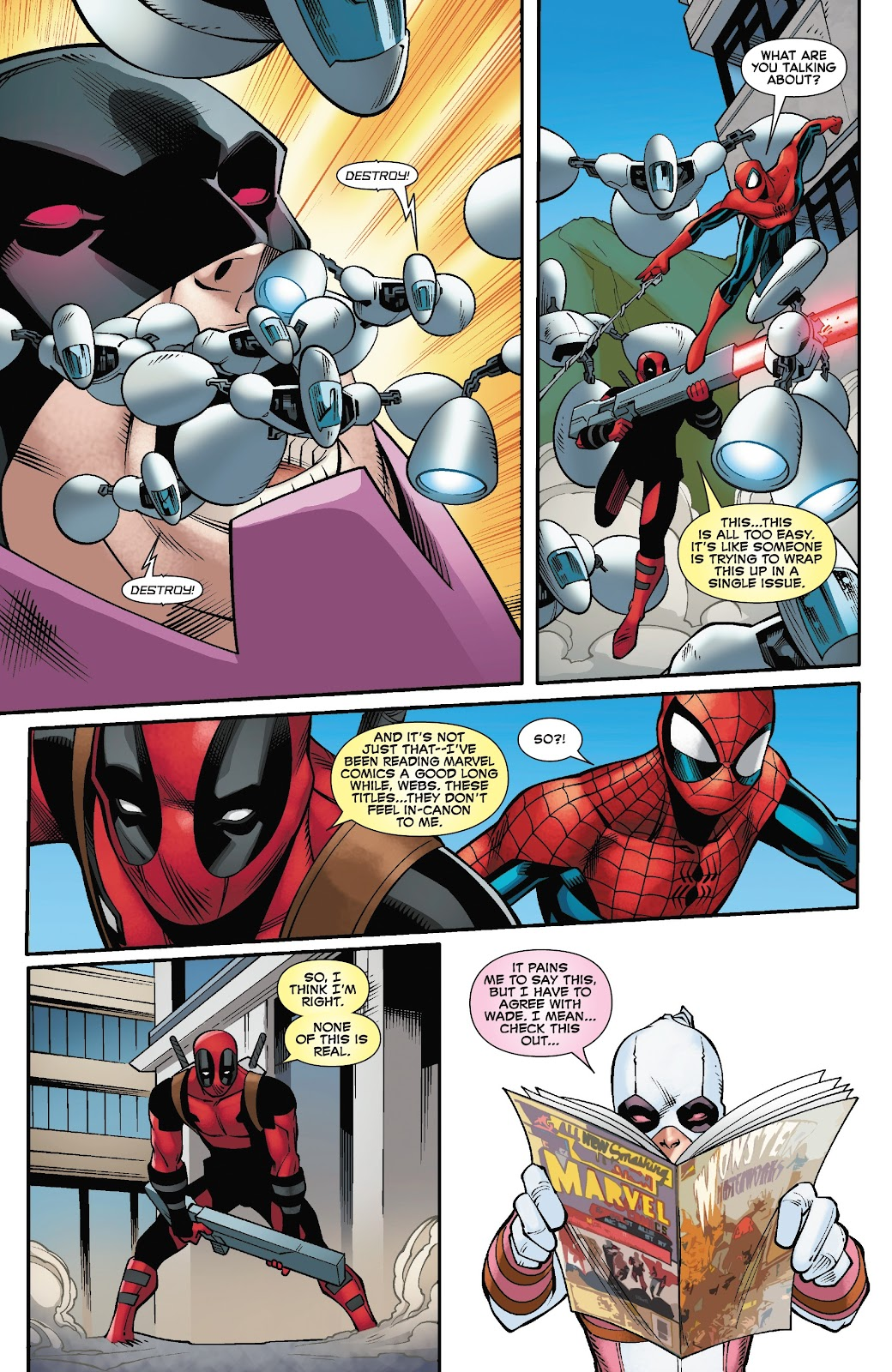 Read online Spider-Man/Deadpool comic -  Issue #50 - 16