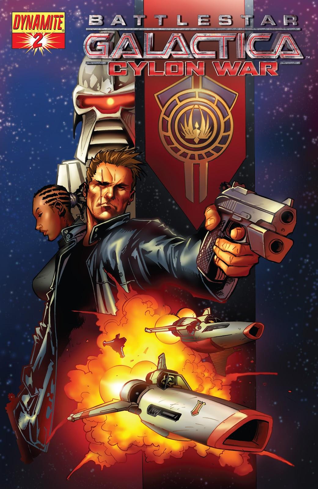 Battlestar Galactica: Cylon War 2 Page 2