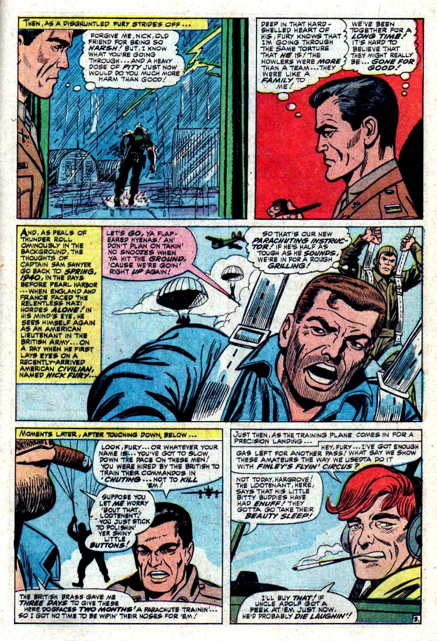 Read online Sgt. Fury comic -  Issue #34 - 5