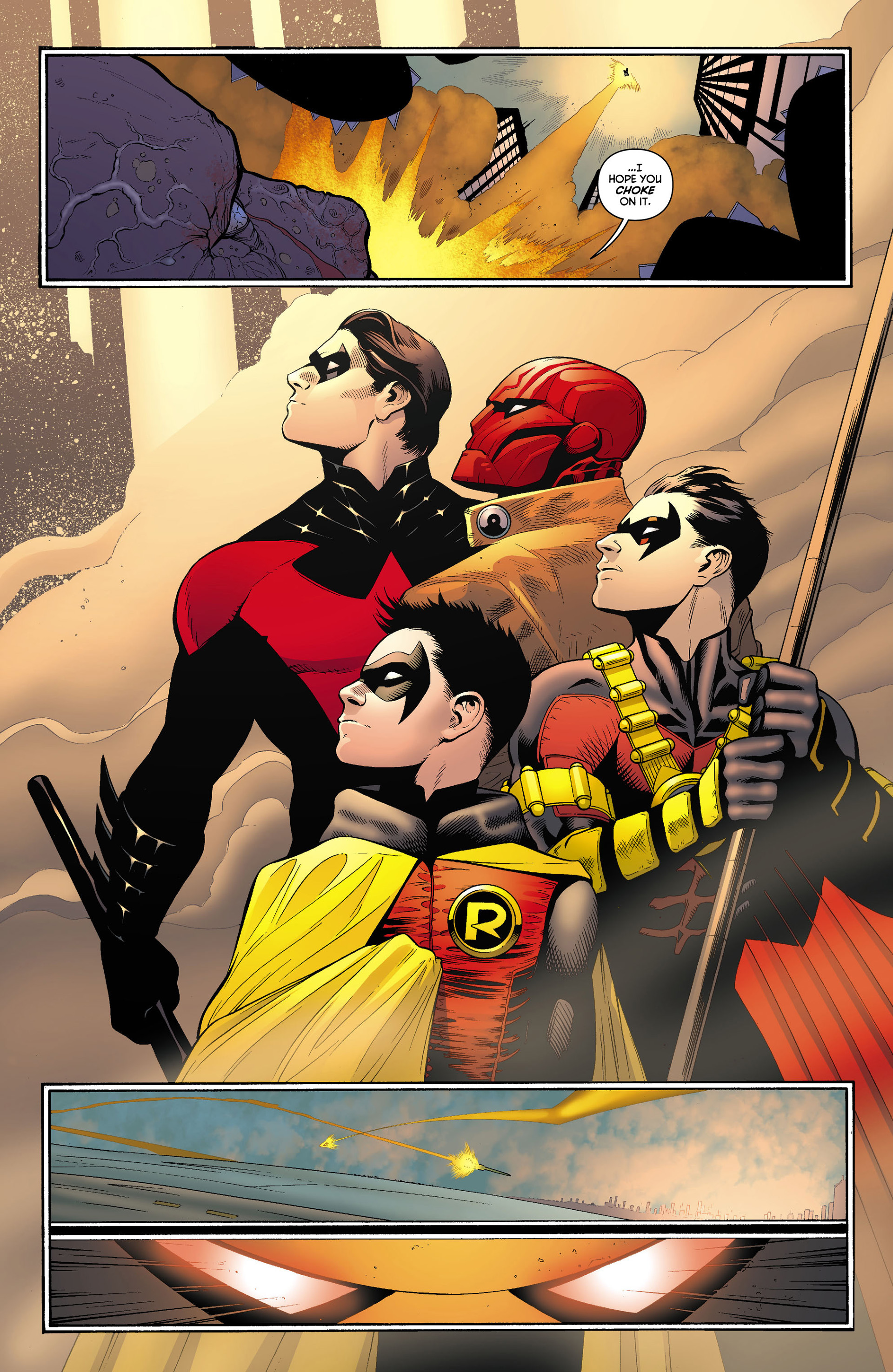 Read online Batman and Robin (2011) comic -  Issue #12 - 14