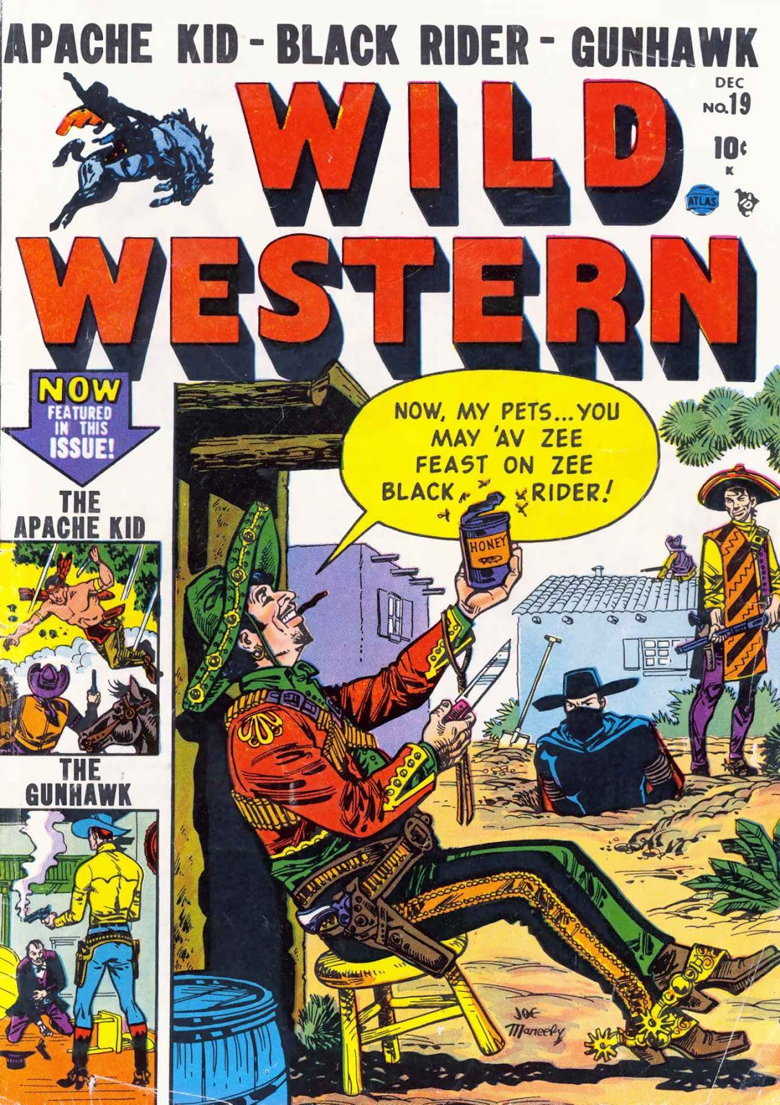 Wild Western 19 Page 1
