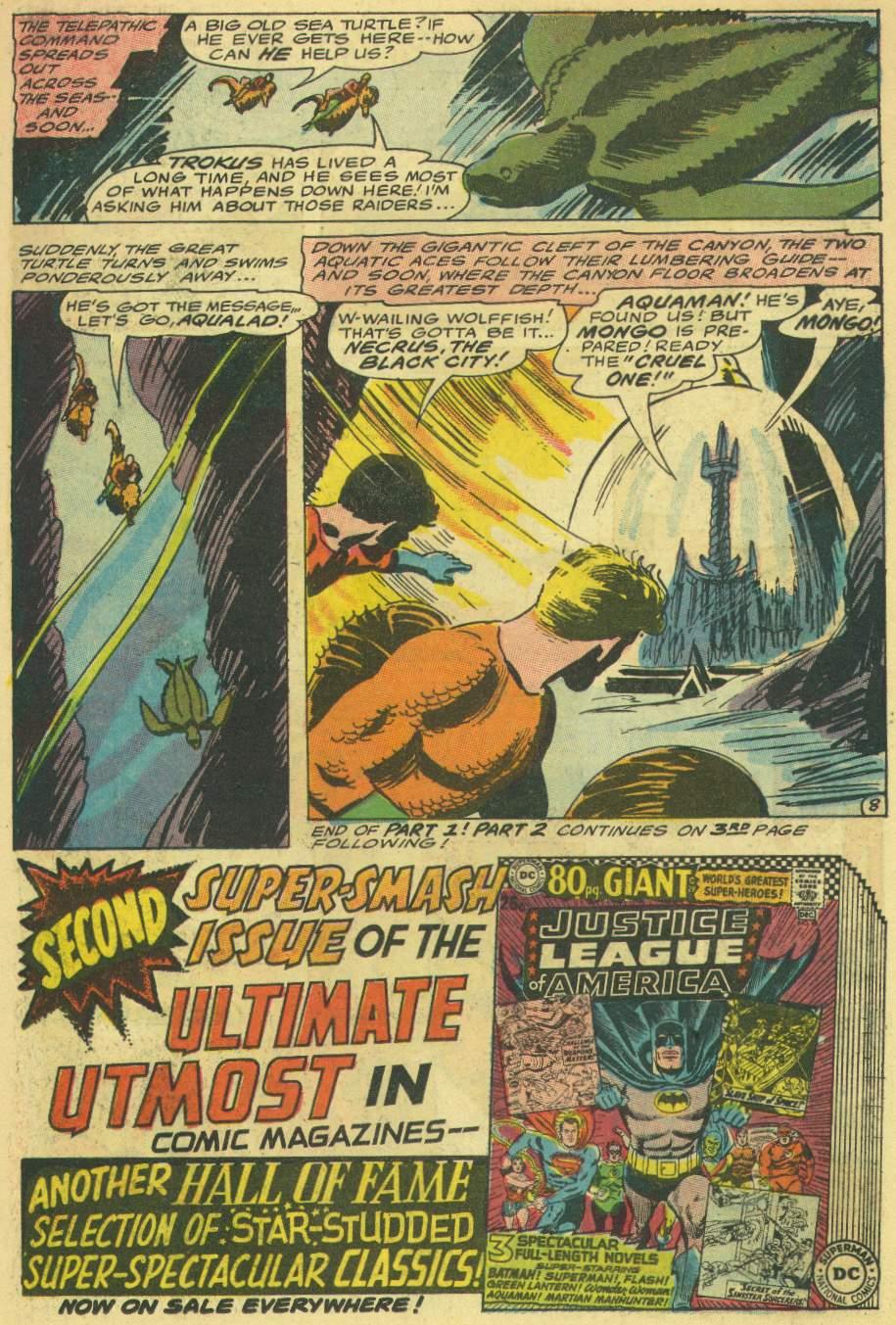 Read online Aquaman (1962) comic -  Issue #30 - 11
