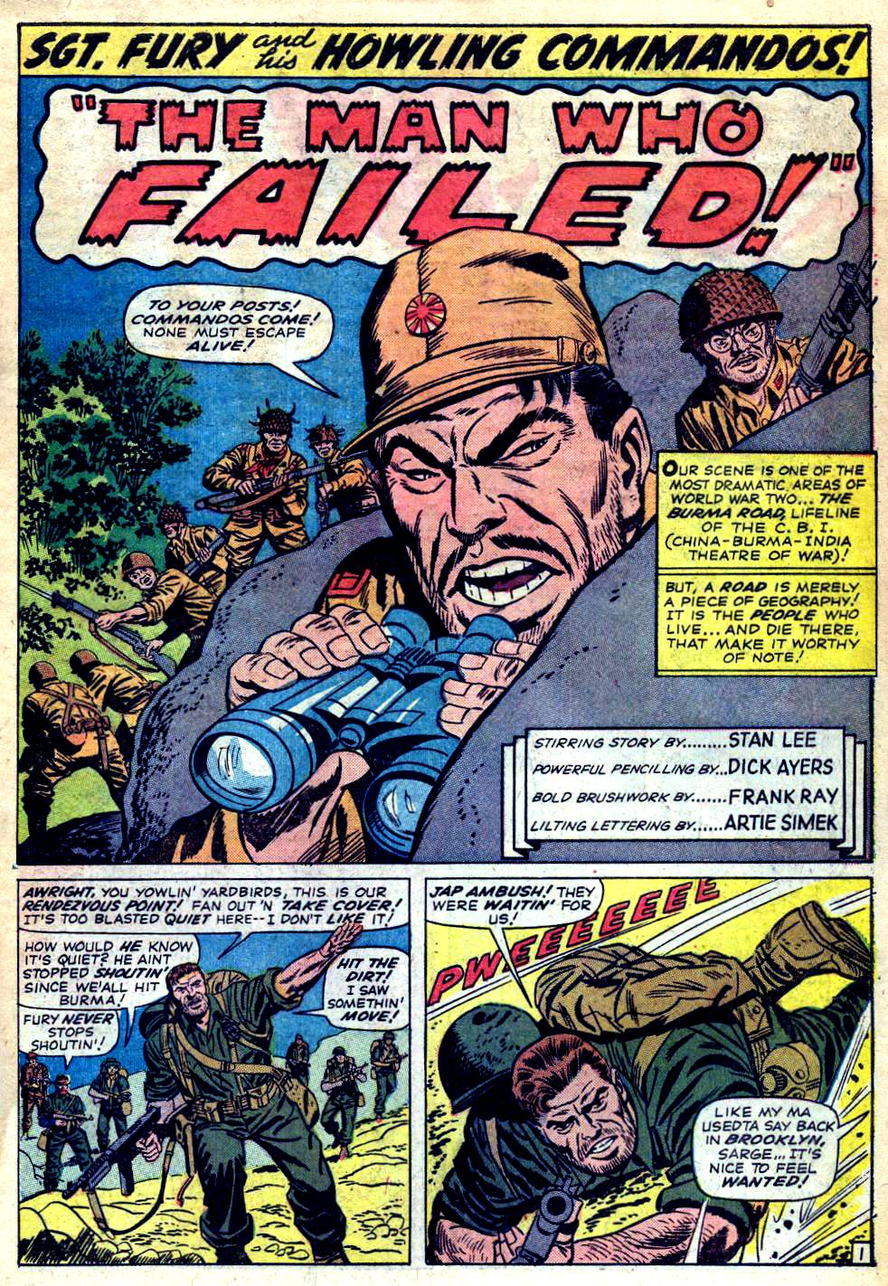 Read online Sgt. Fury comic -  Issue #23 - 3