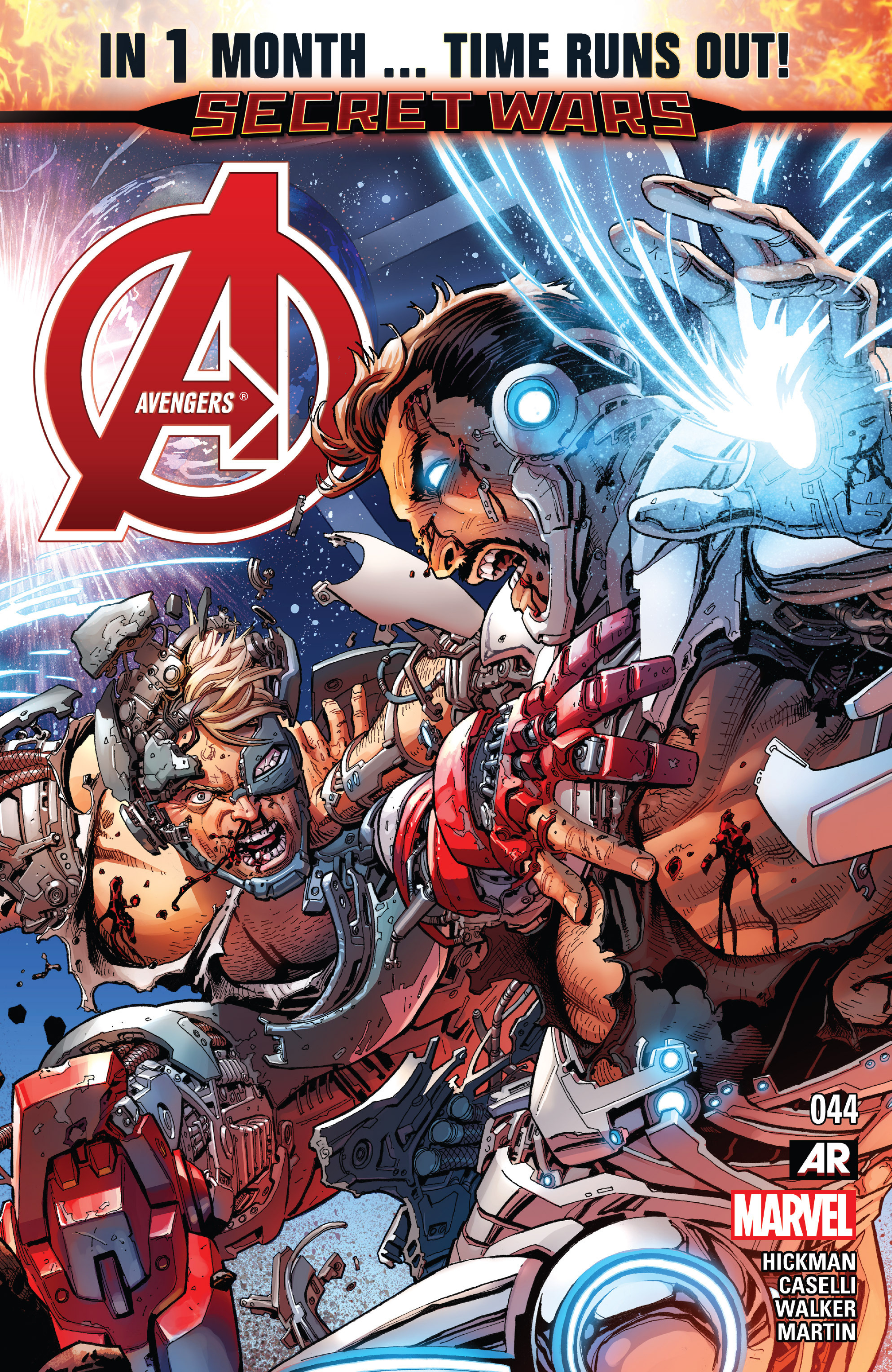Read online Avengers (2013) comic -  Issue #44 - 1