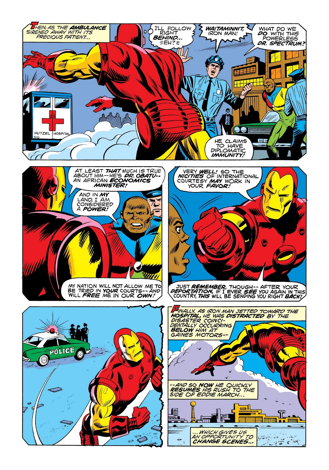 Read online Marvel Masterworks: The Invincible Iron Man comic -  Issue # TPB 9 (Part 3) - 78