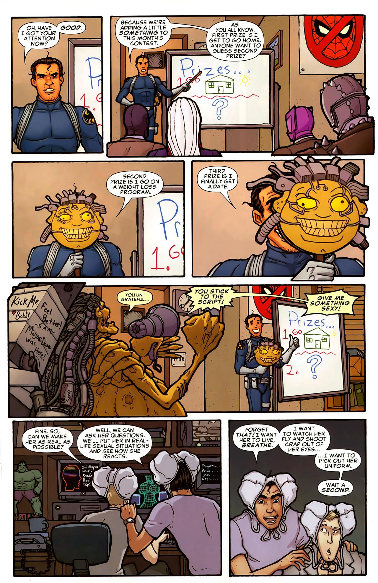 Read online Astonishing Tales (2009) comic -  Issue #5 - 33