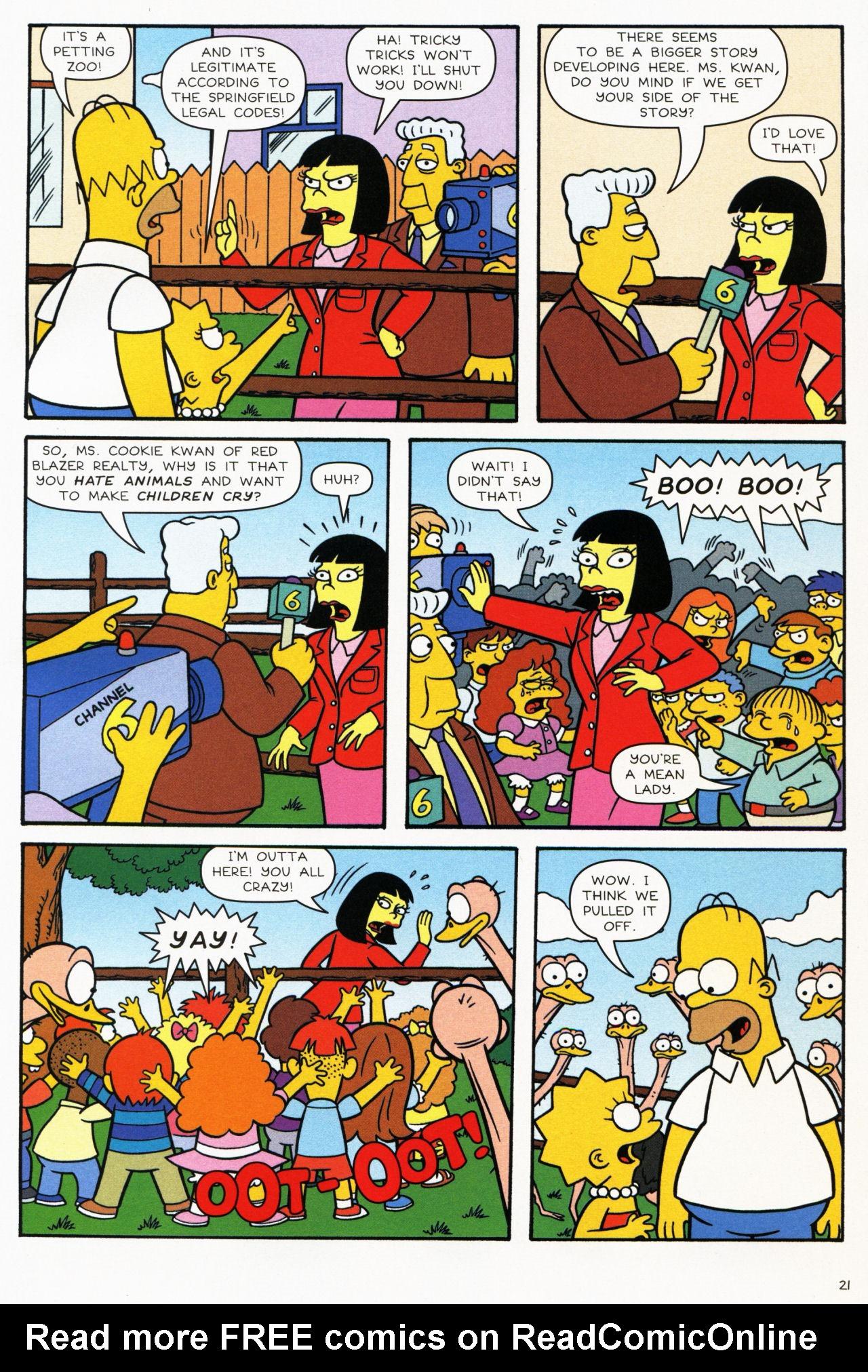 Read online Simpsons Comics comic -  Issue #139 - 19
