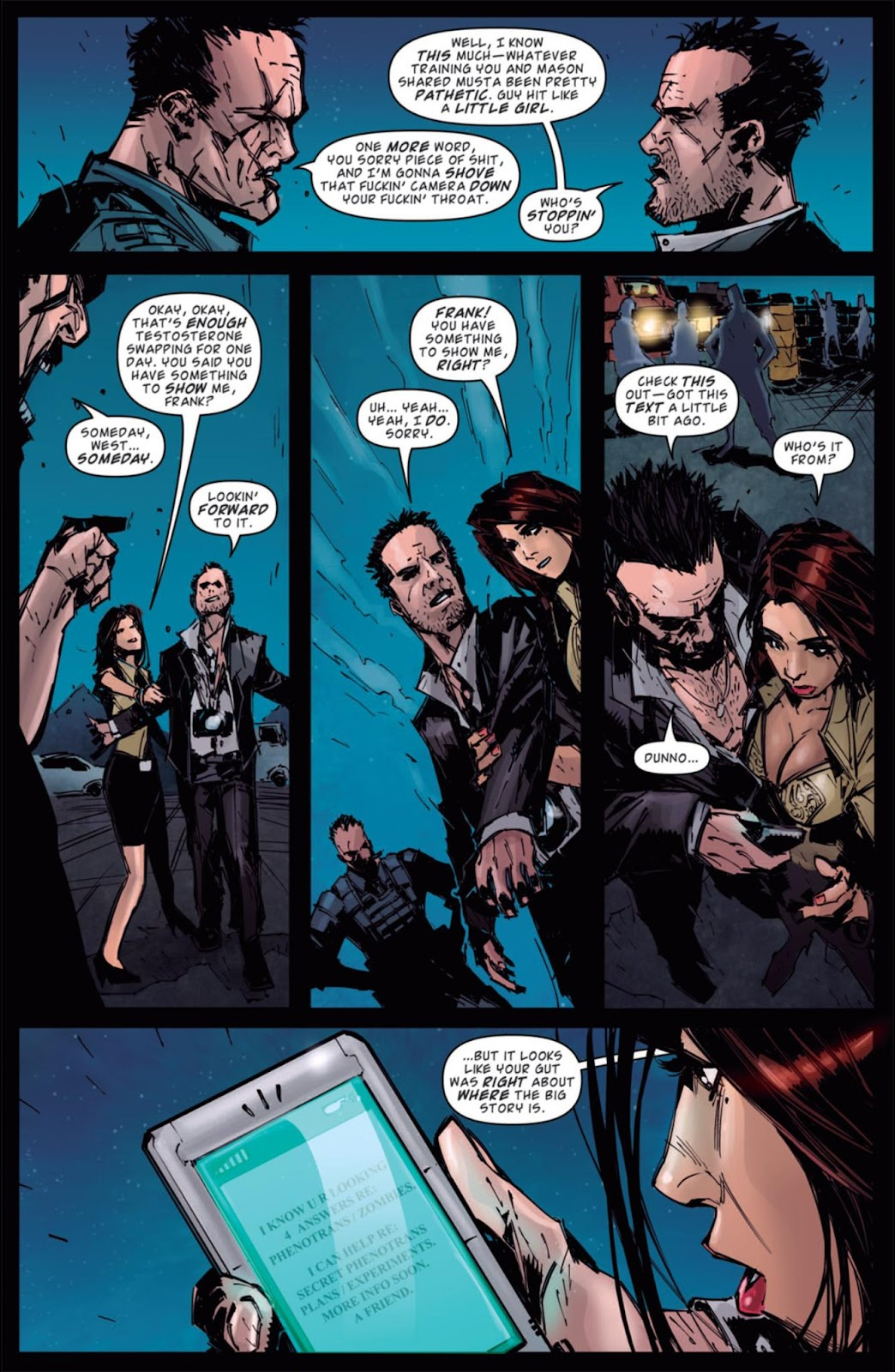 Read online Dead Rising: Road to Fortune comic -  Issue #4 - 18