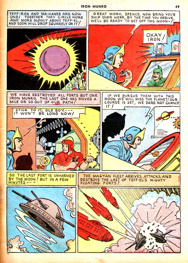 Read online Shadow Comics comic -  Issue #7 - 42